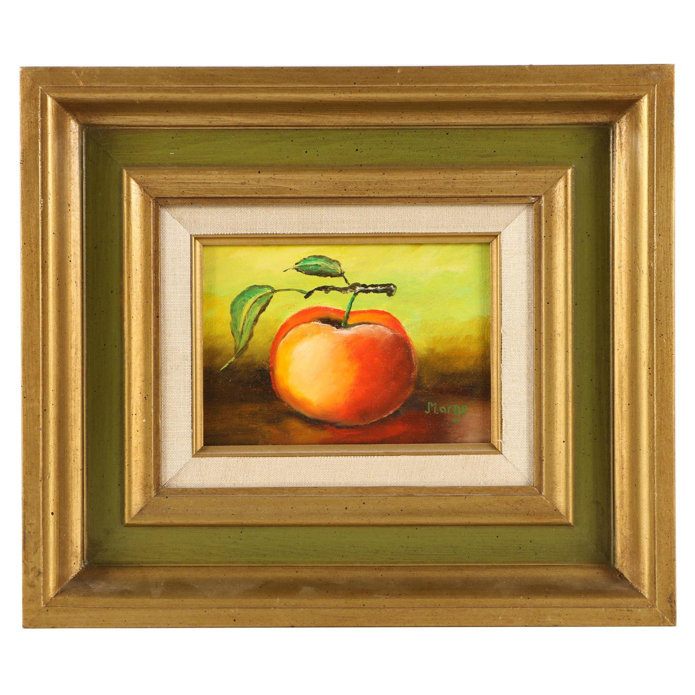 """Margo Nitoff Still Life Oil Painting """"Fruit"""""""