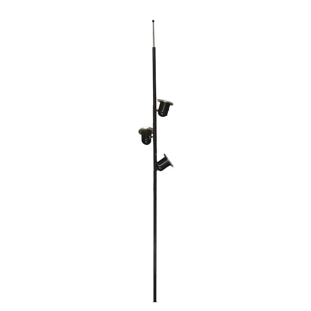 Mid Century Modern Style Tension Pole Floor Lamp