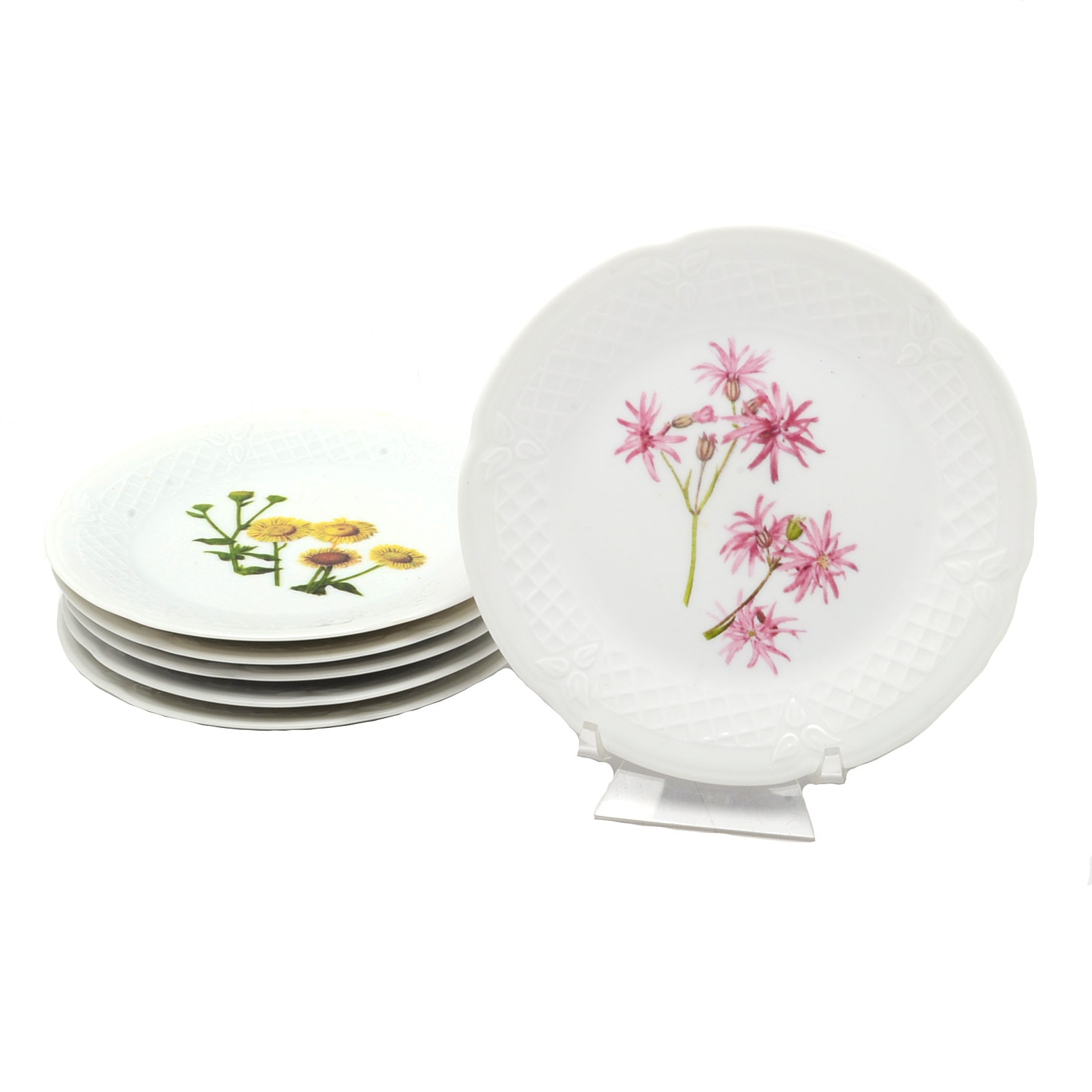 French Philippe Deshoulieres Limoges Plates