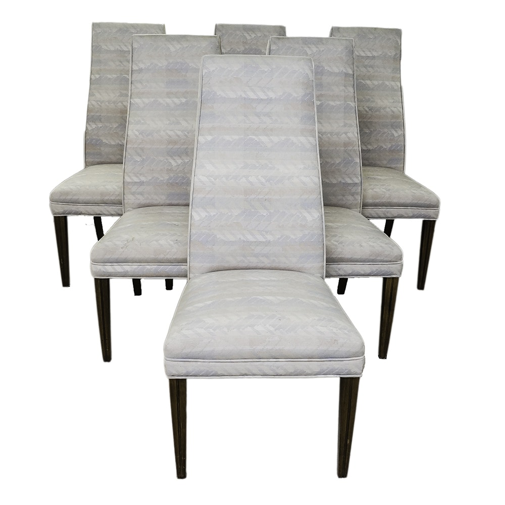Modern Style High Back Dining Chairs