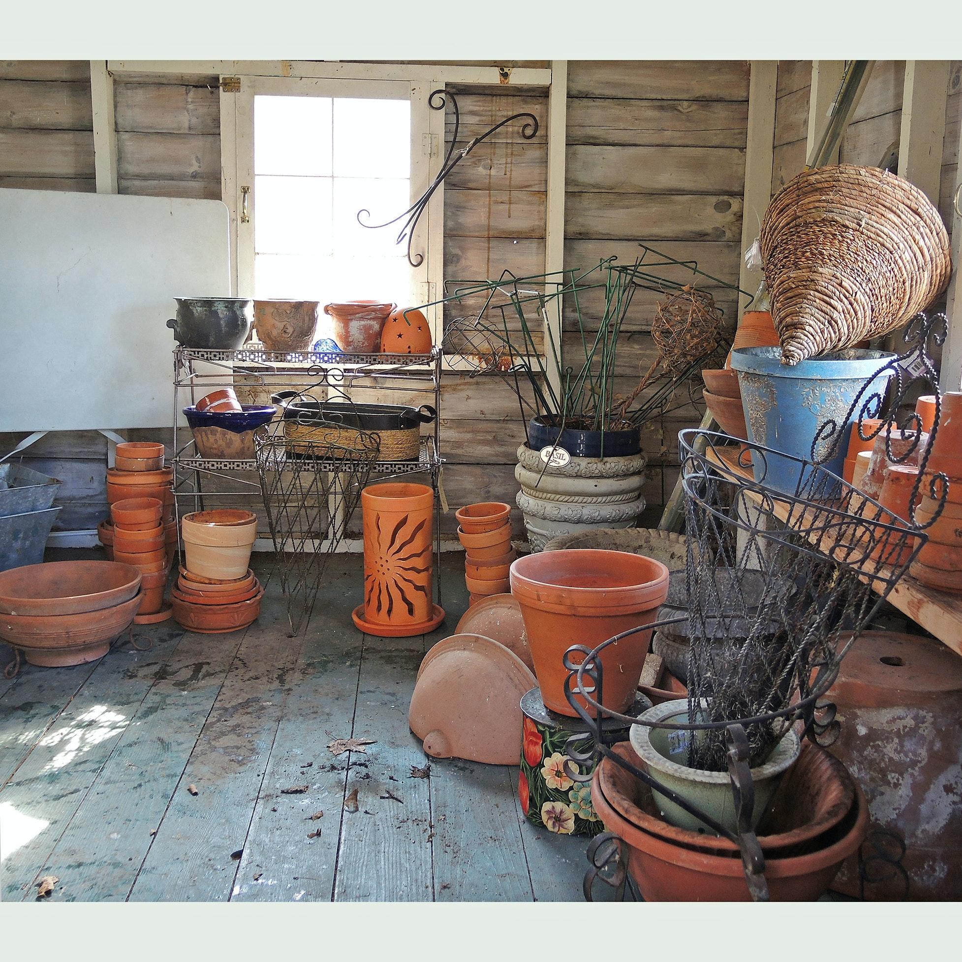 Gardening Clay Pots