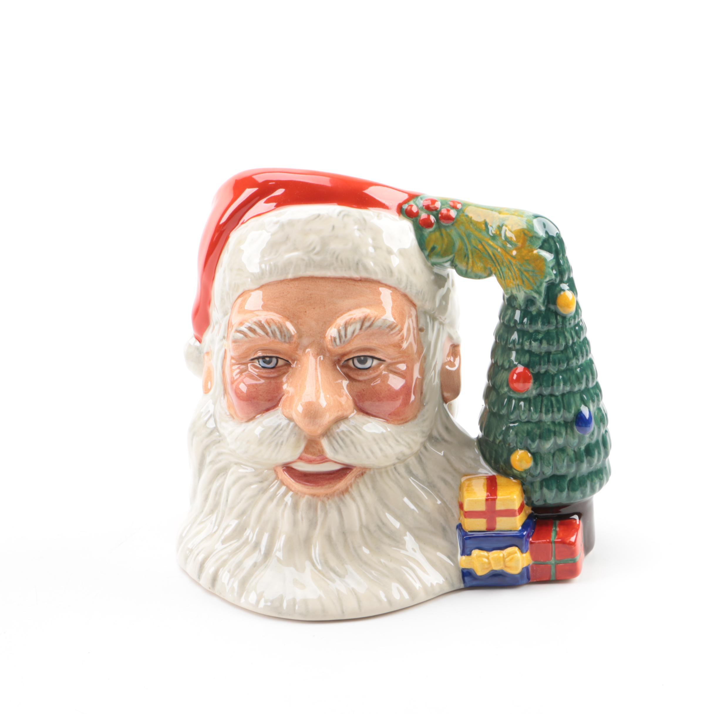 """Royal Doulton """"Santa Claus"""" Character Jug"""