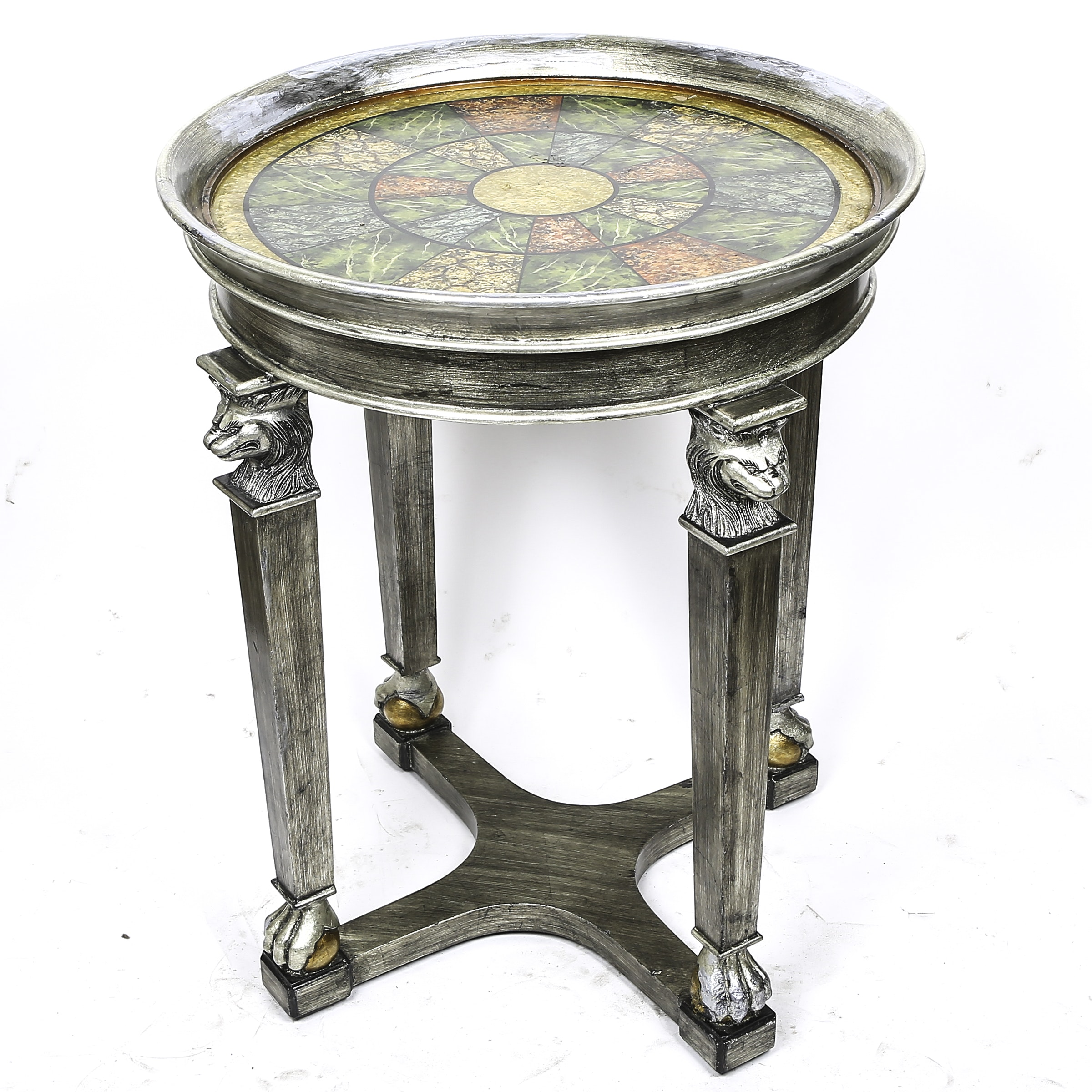 Neoclassical Style Tray Table