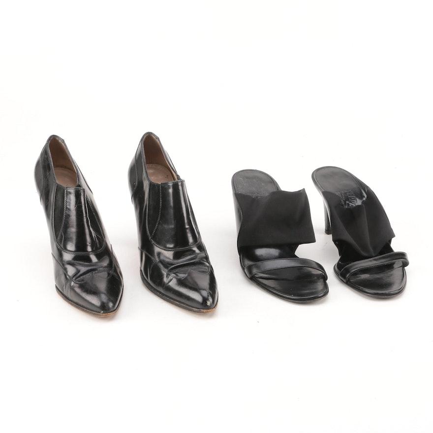 4480d64f83ac Women s Salvatore Ferragamo Pumps and Slide Sandals   EBTH