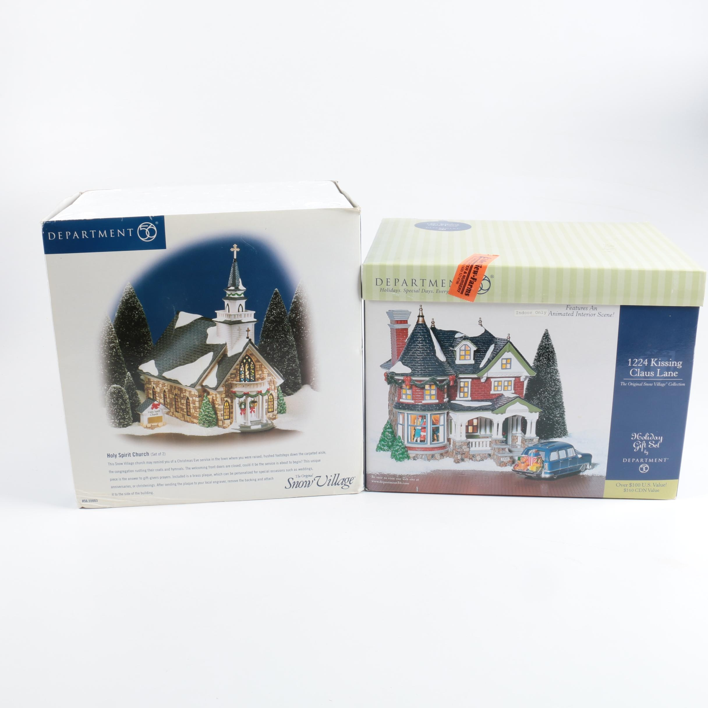 Department 56 Holiday Collection