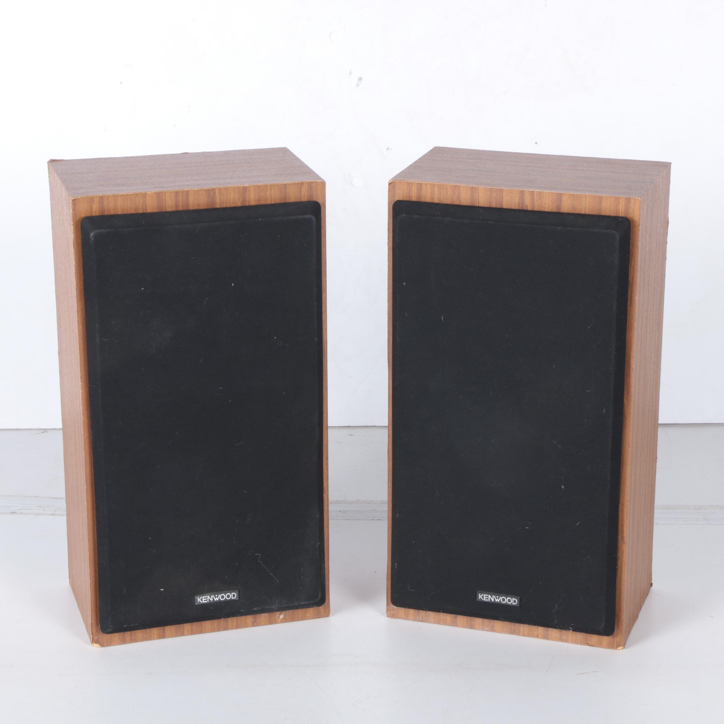 Vintage Kenwood Floor Speakers