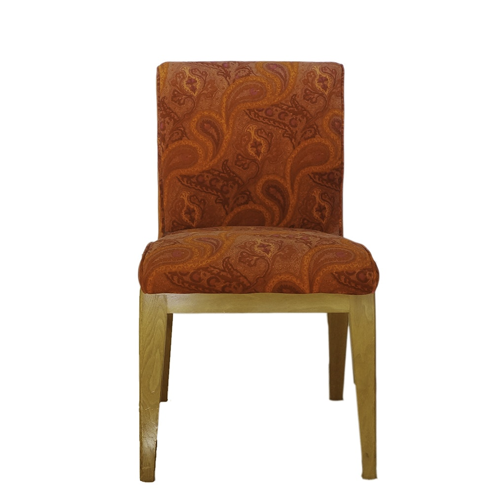 Mid Century Modern Style Walnut Framed Side Chair