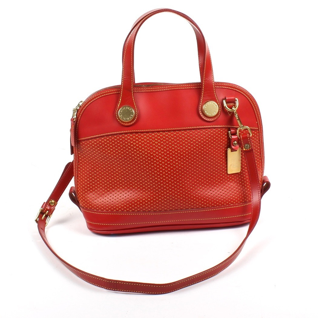 Dooney & Bourke Red Cabrio Handbag