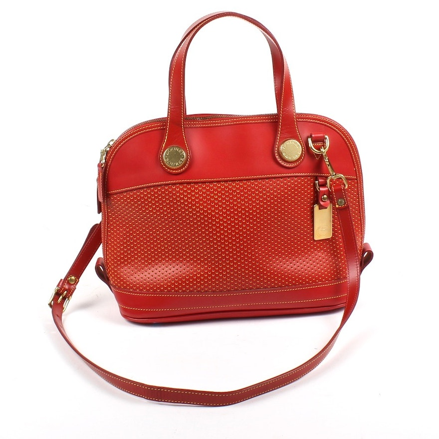 fe30ad83f57f Dooney   Bourke Red Cabrio Handbag   EBTH