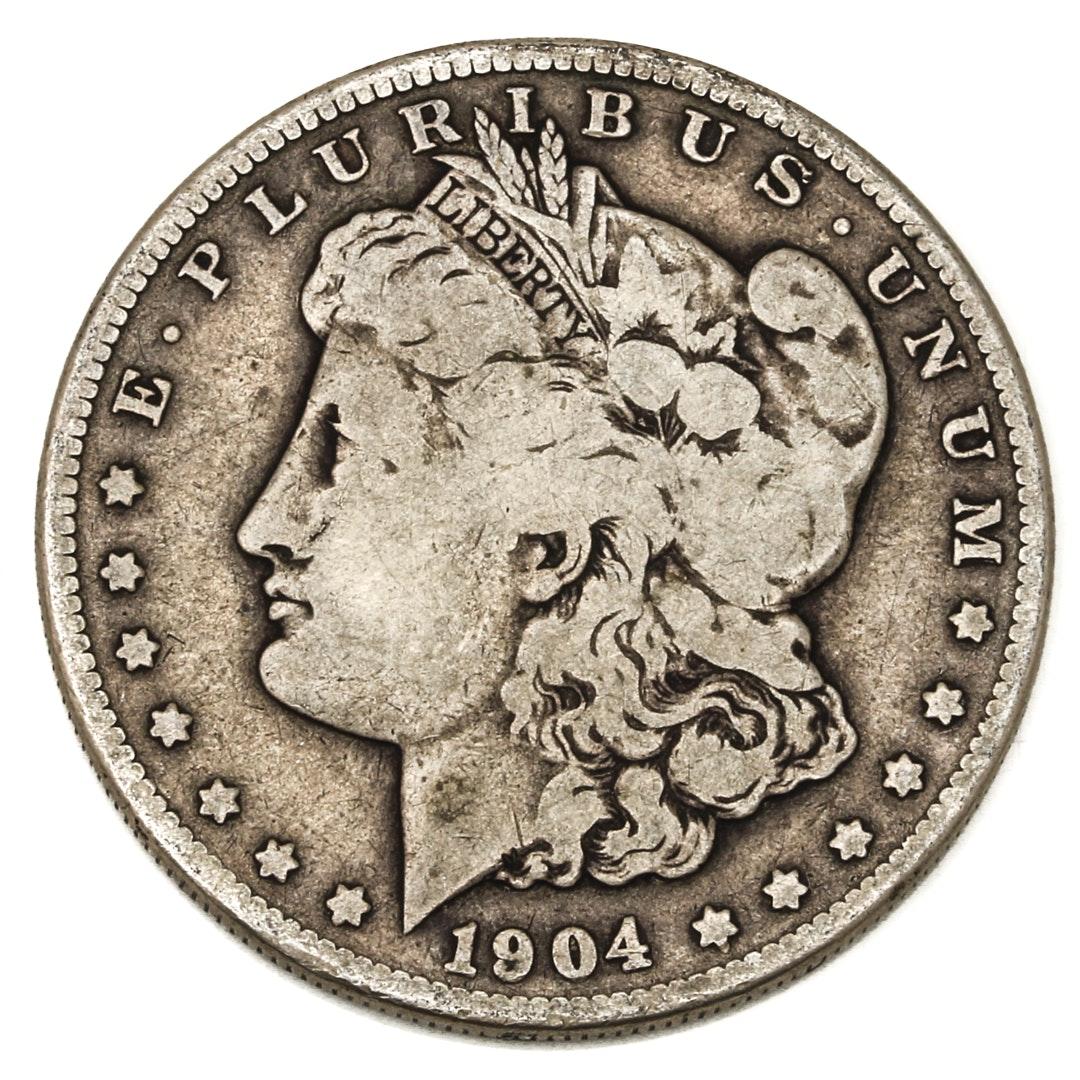 1904 S Morgan Silver Dollar