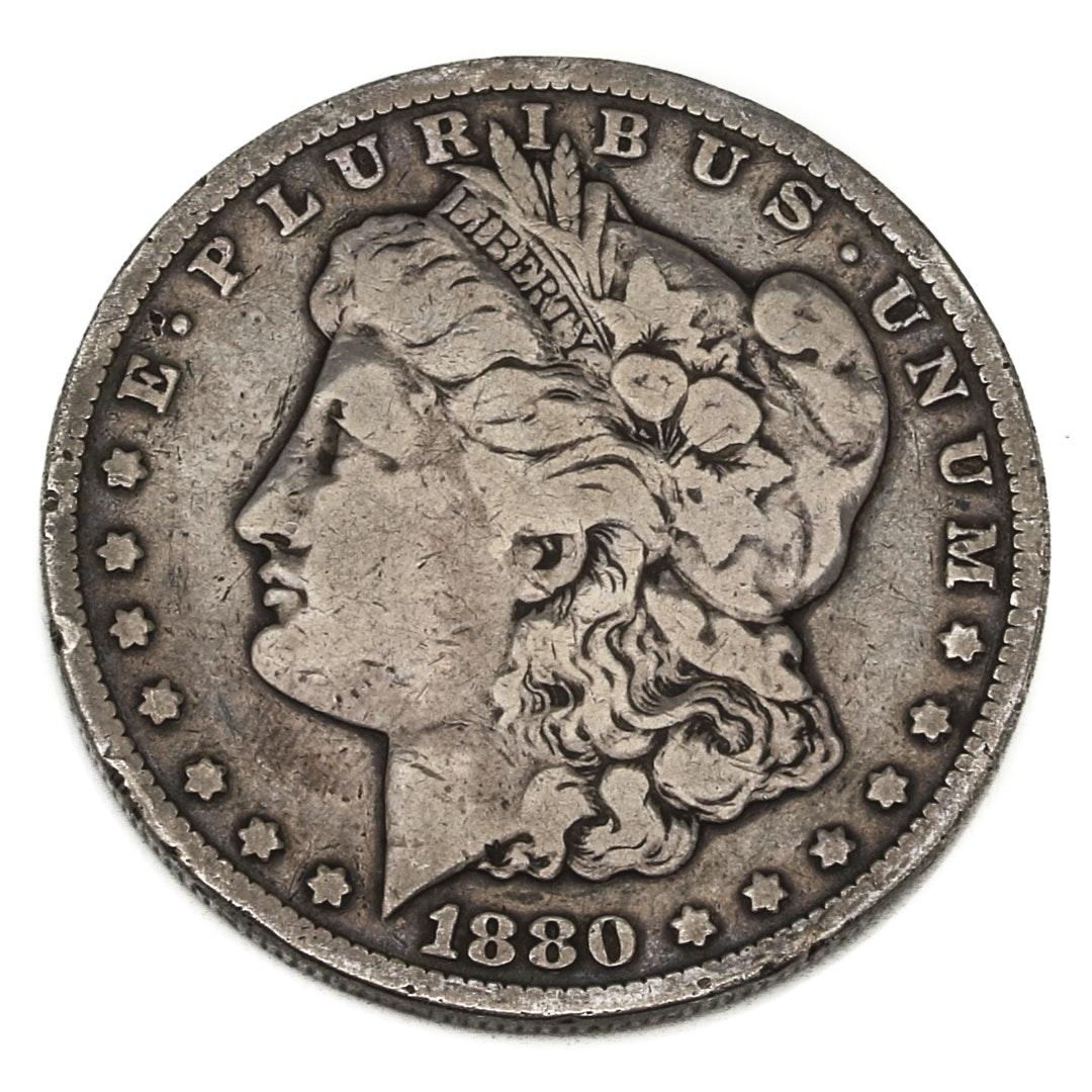 1880 Carson City Morgan Silver Dollar