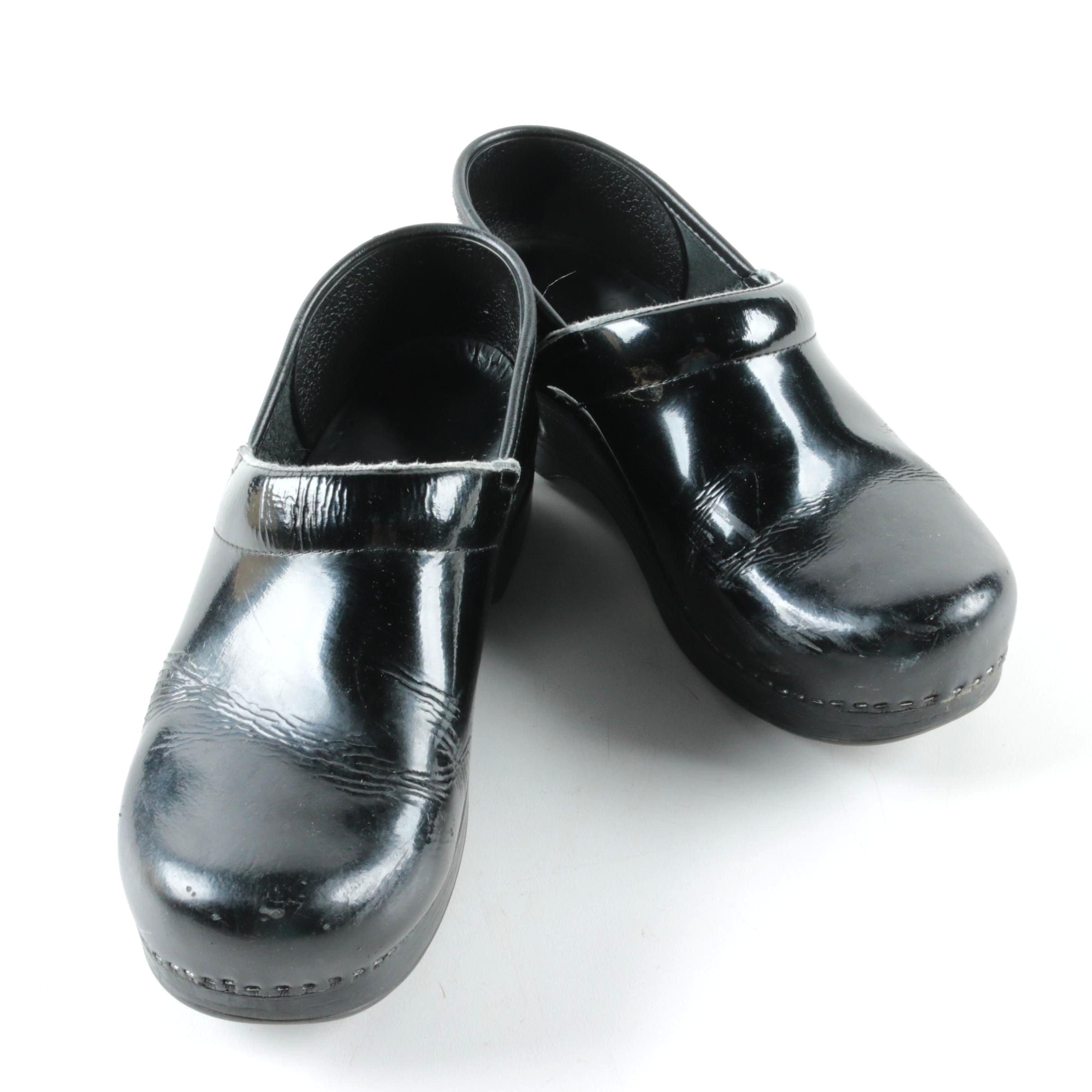 Dansko Professional Patent Leather Clogs