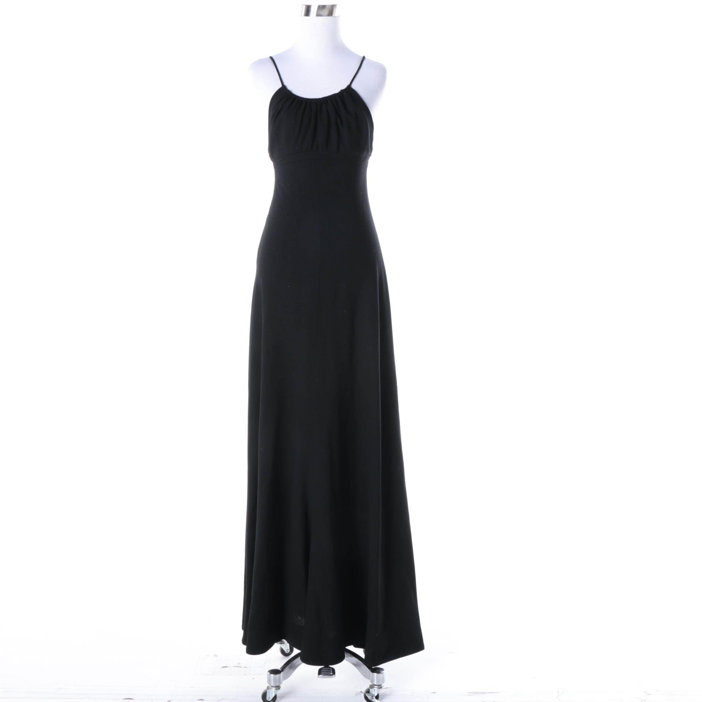 Women's Vintage Cardinali Maxi Dress