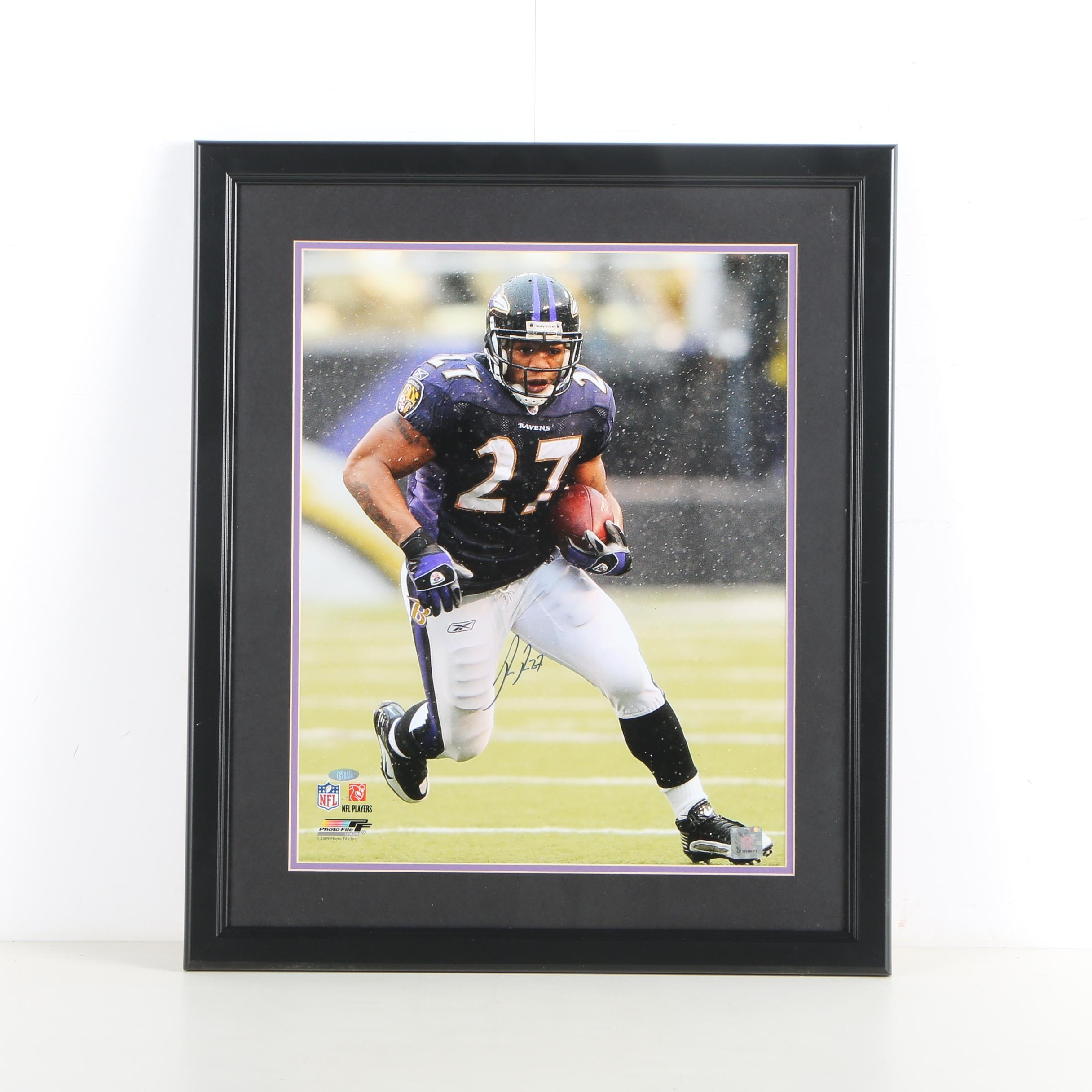 Ray Rice Autographed Digital Photograph
