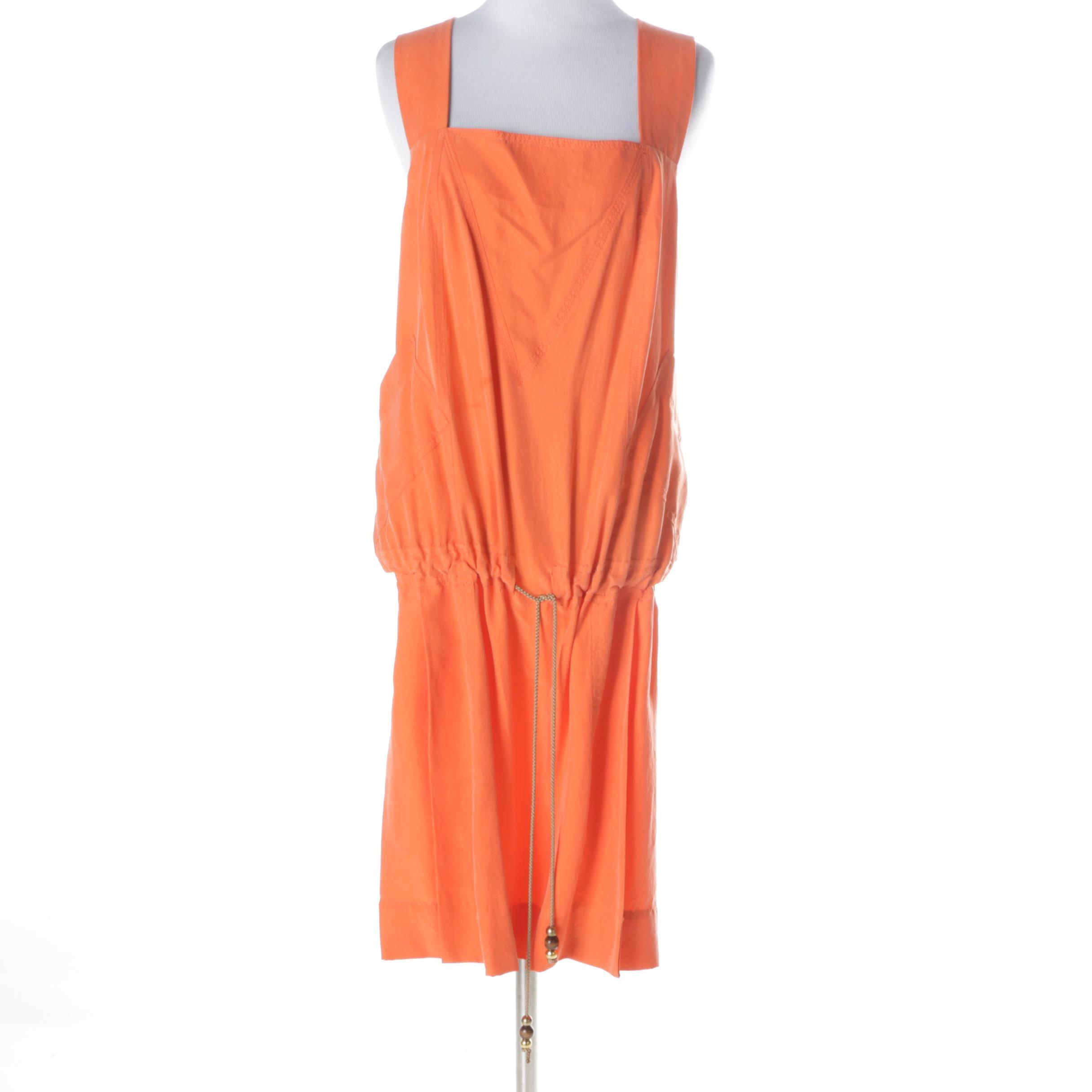Diane von Furstenberg Silk Drawstring Dress