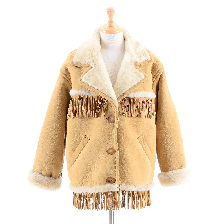 Women's Eddie Bauer Shearling Jacket