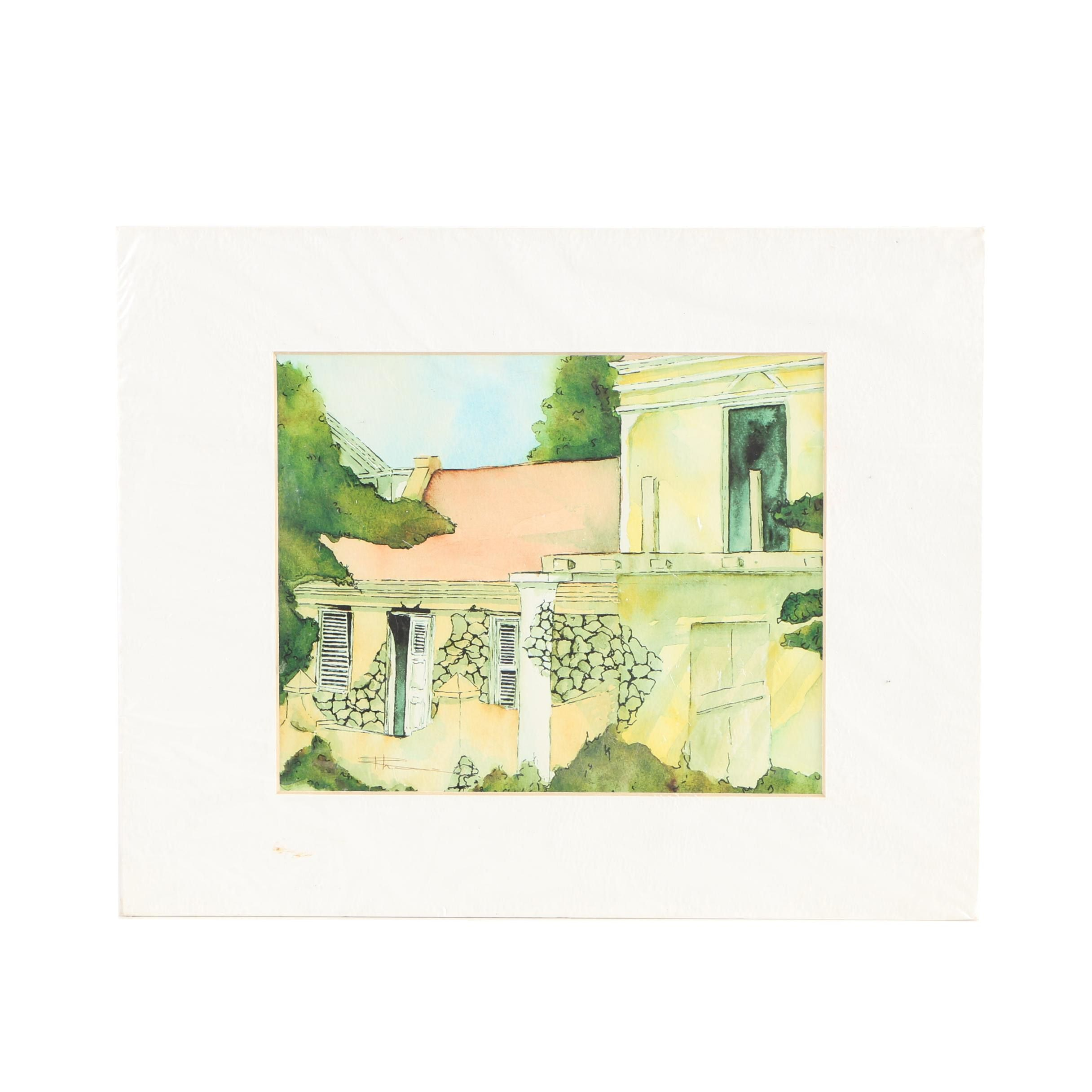 Giclee of Architecture