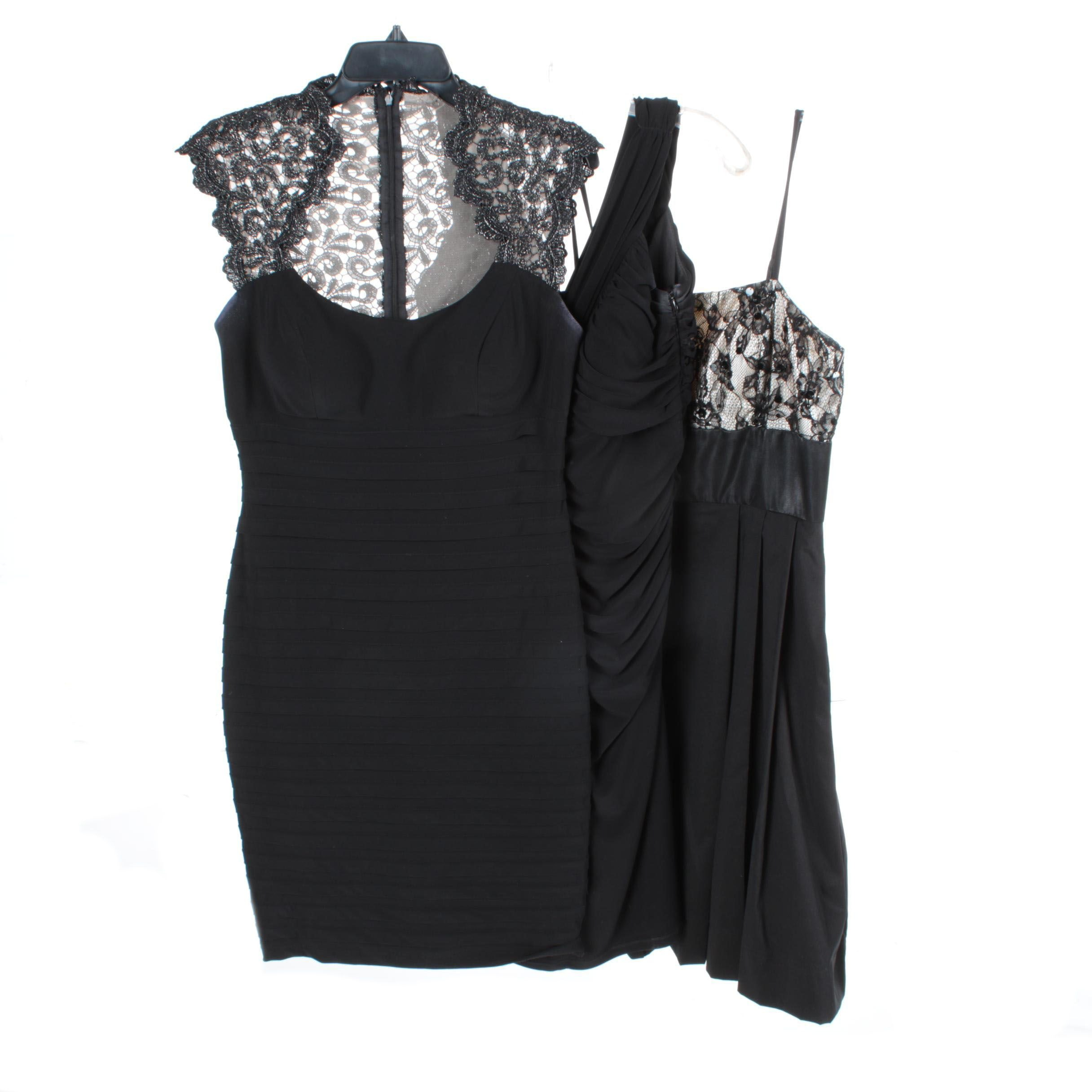 Women's Black Evening Dresses Including Joseph Ribkoff
