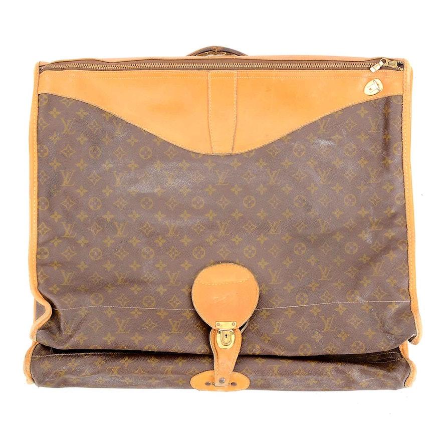451a14d872c9 Vintage Louis Vuitton Monogram Garment Bag   EBTH