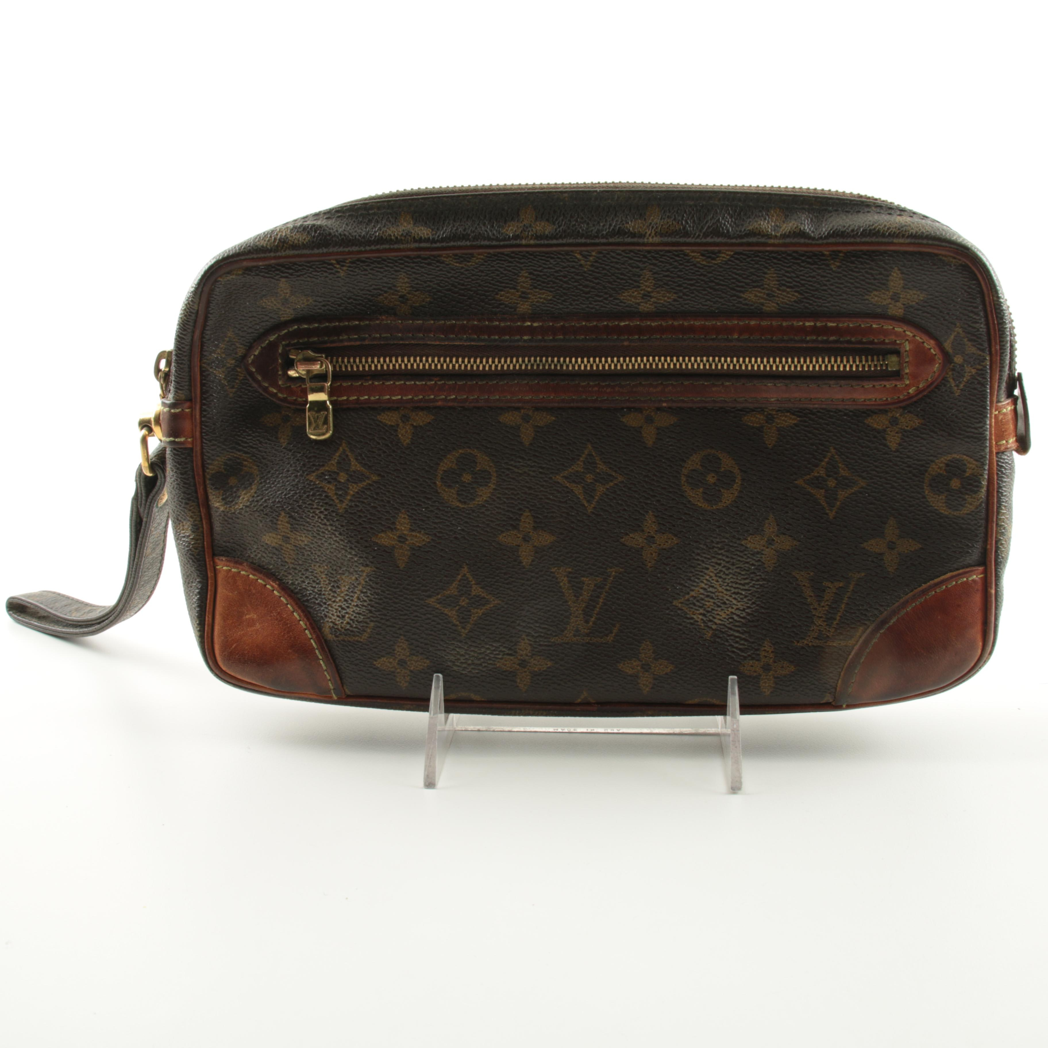 Vintage Louis Vuitton Monogram Wristlet