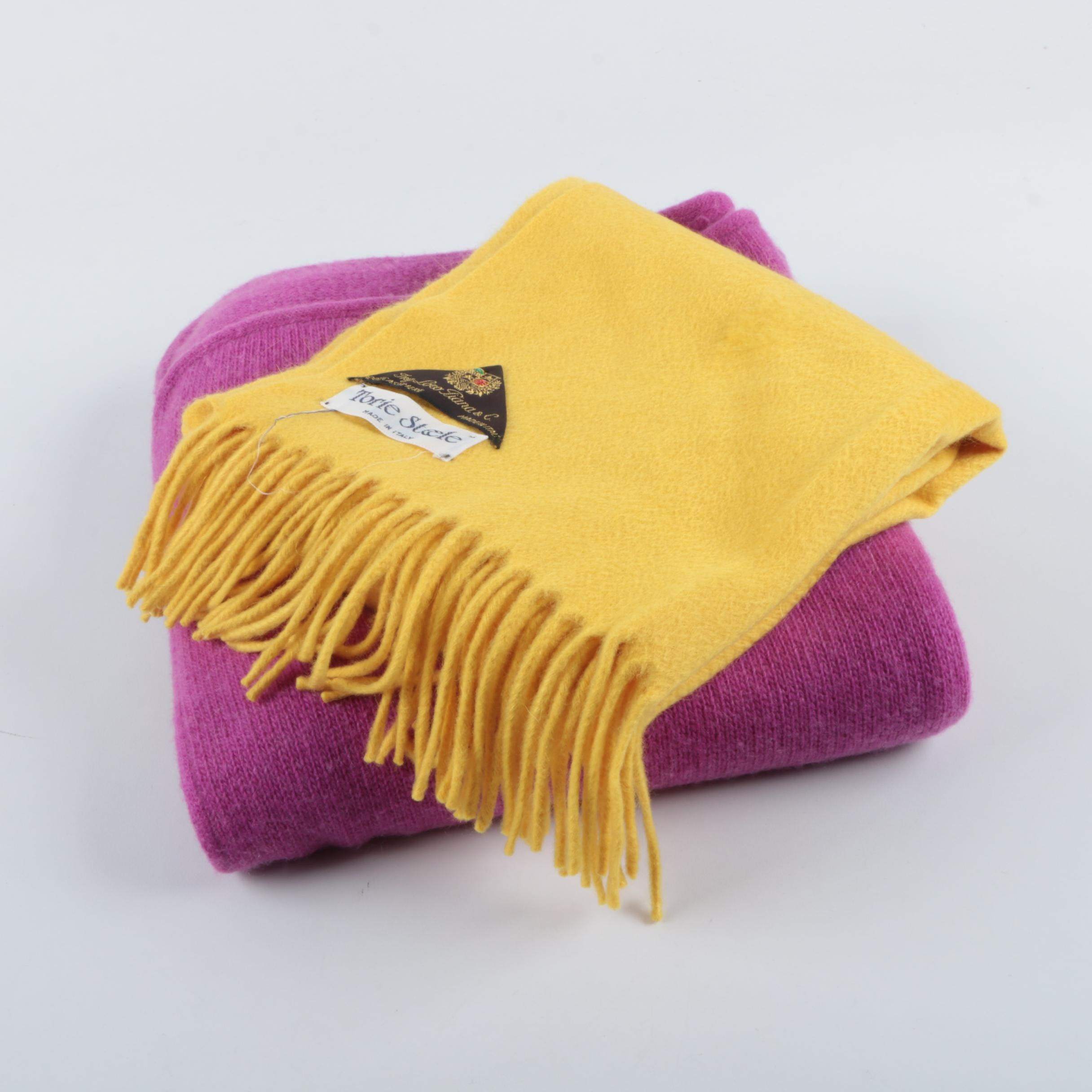 Diane Merrick and Torie Steele Loro Piana Cashmere Scarves