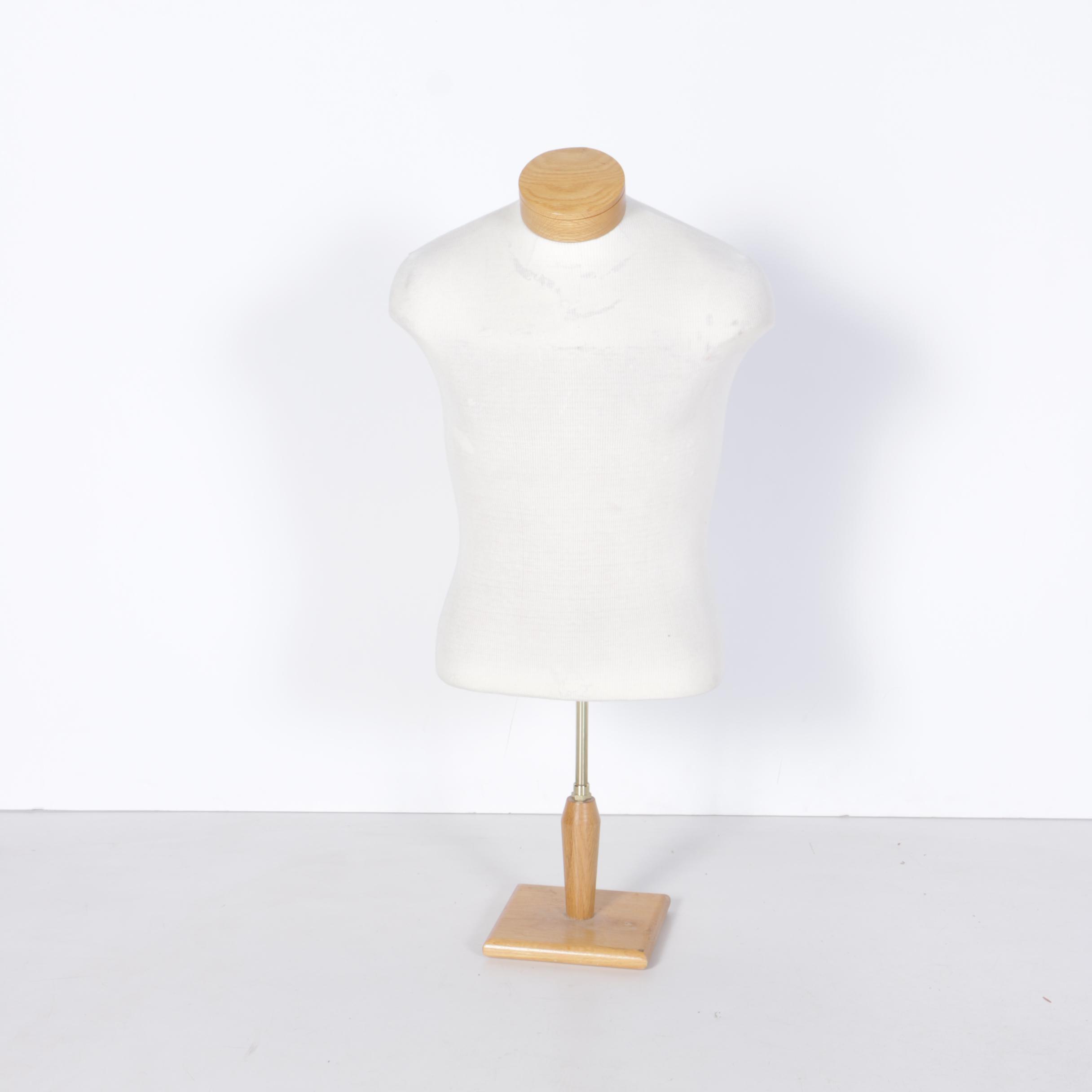Silvestri California Male Torso Dress Form