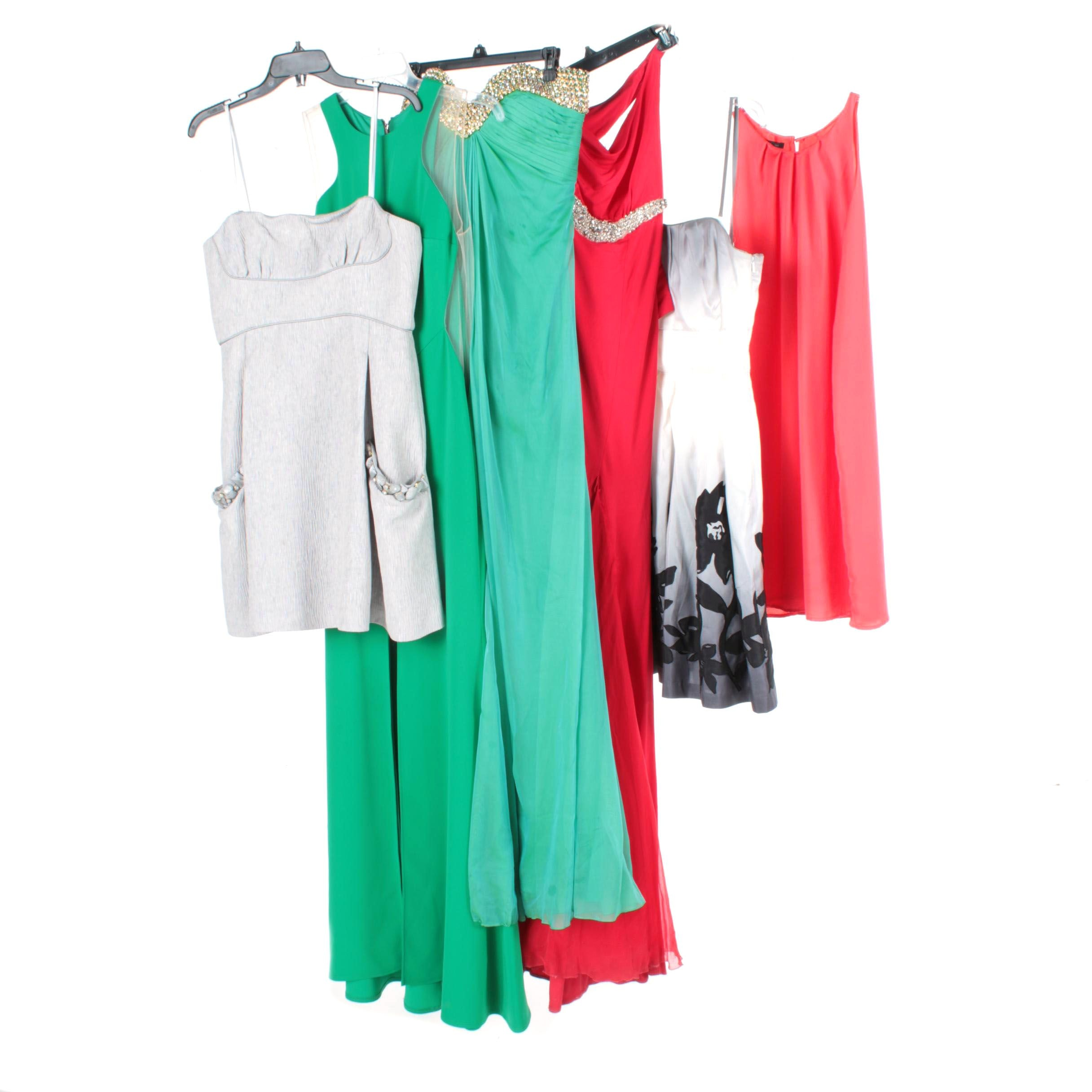 Group of Women's Dresses Including BCBG Max Azria