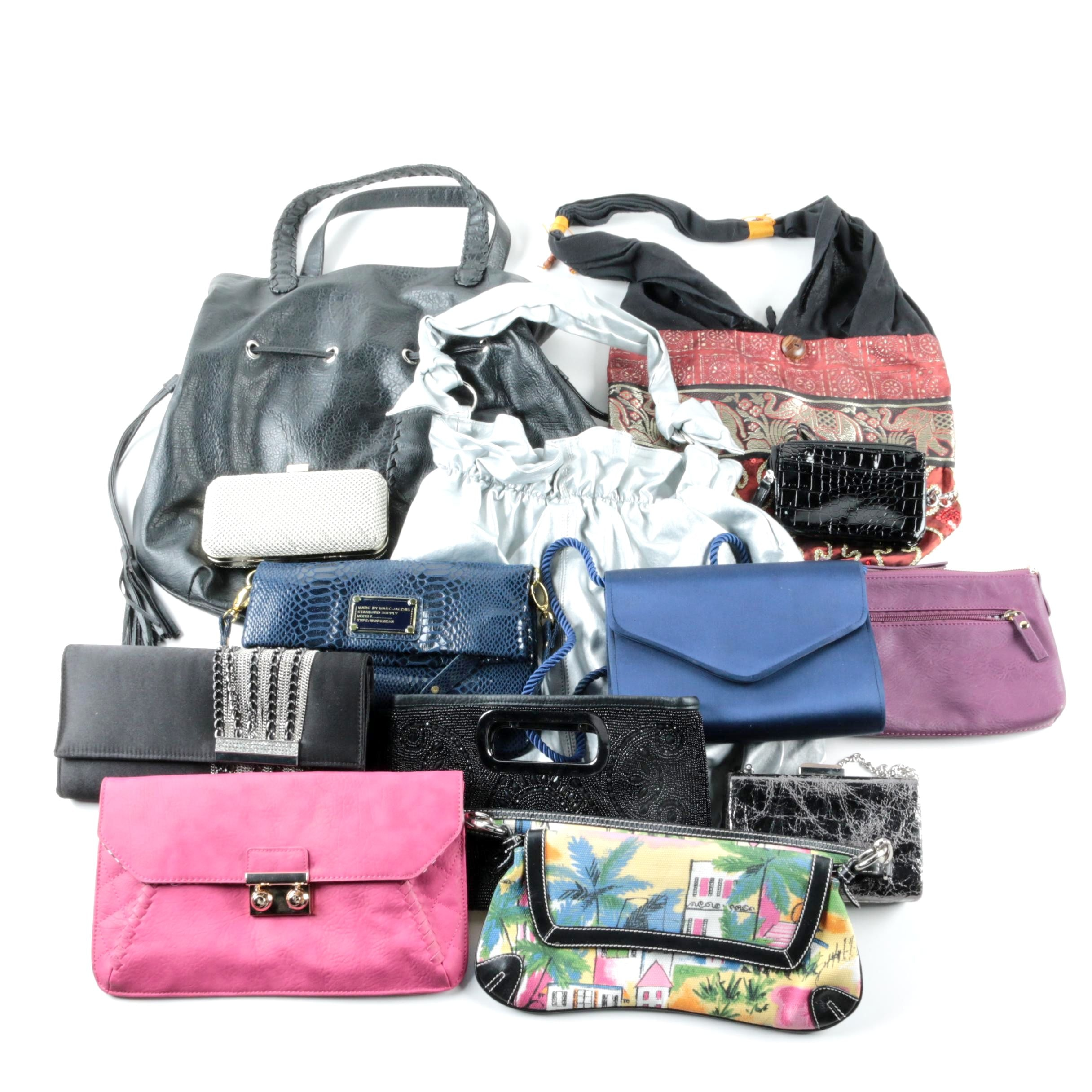 Handbags, Totes and Evening Bags Including Whiting & Davis