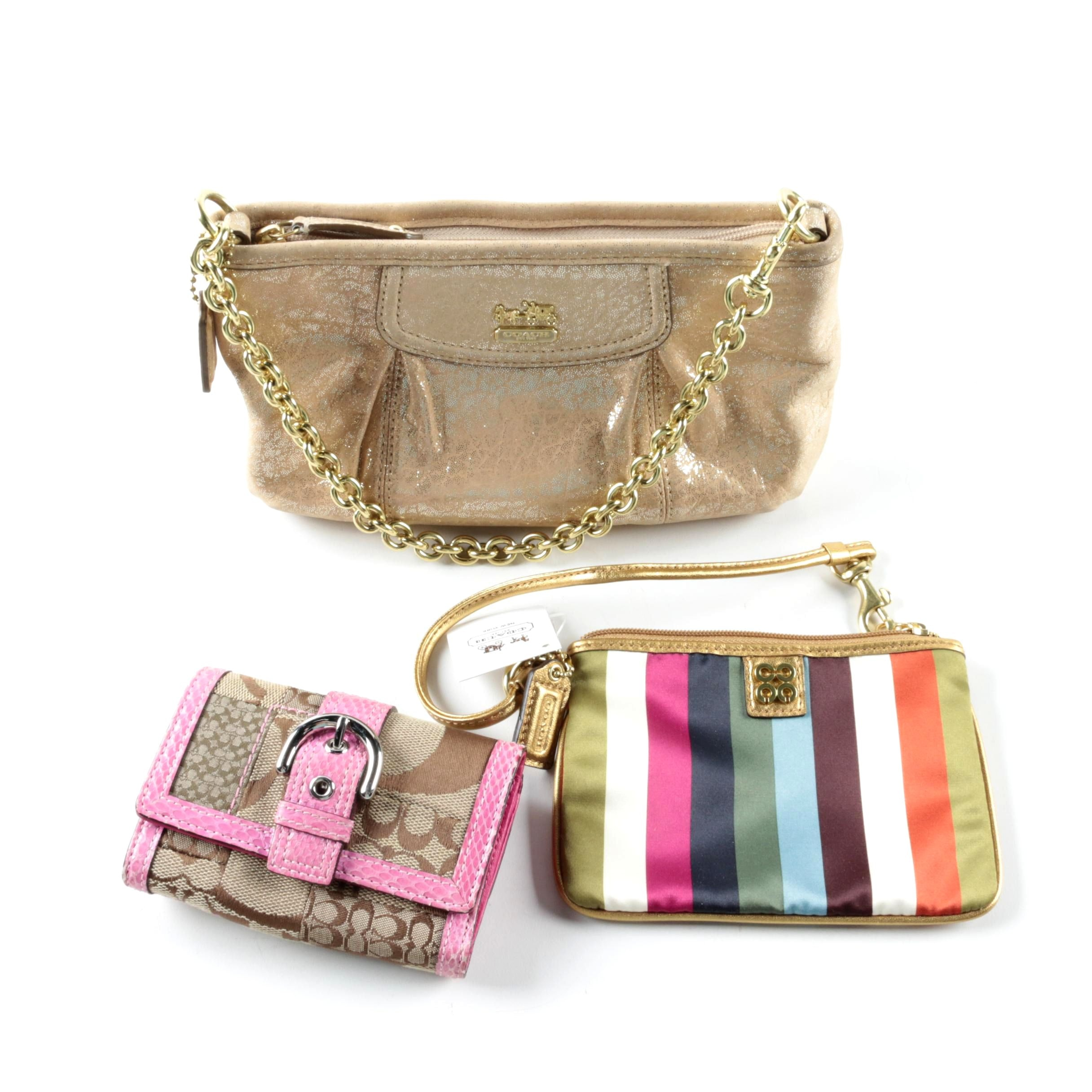 Coach Purse with Coach Wallets