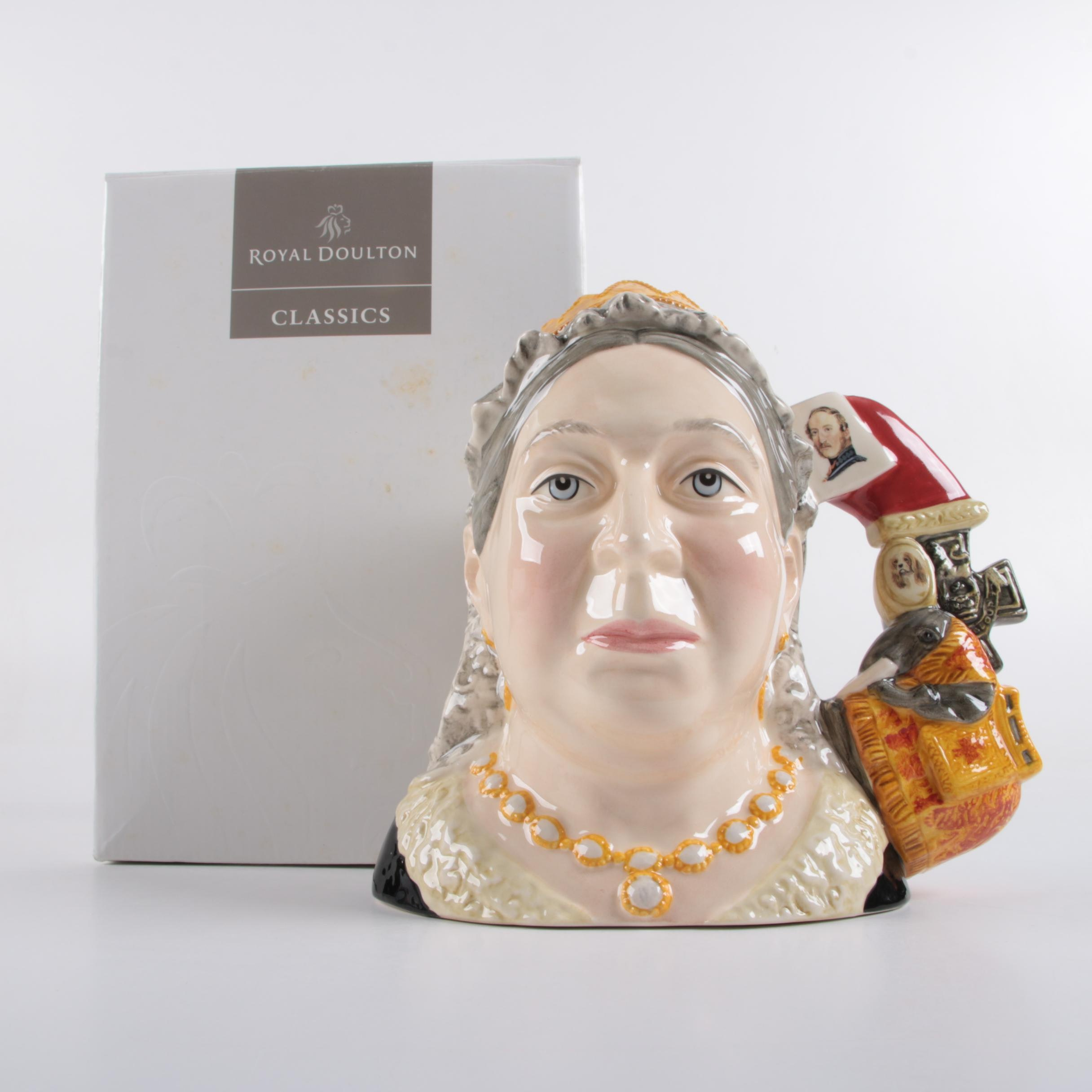 "Limited Edition Royal Doulton ""Queen Victoria""  Character Jug"