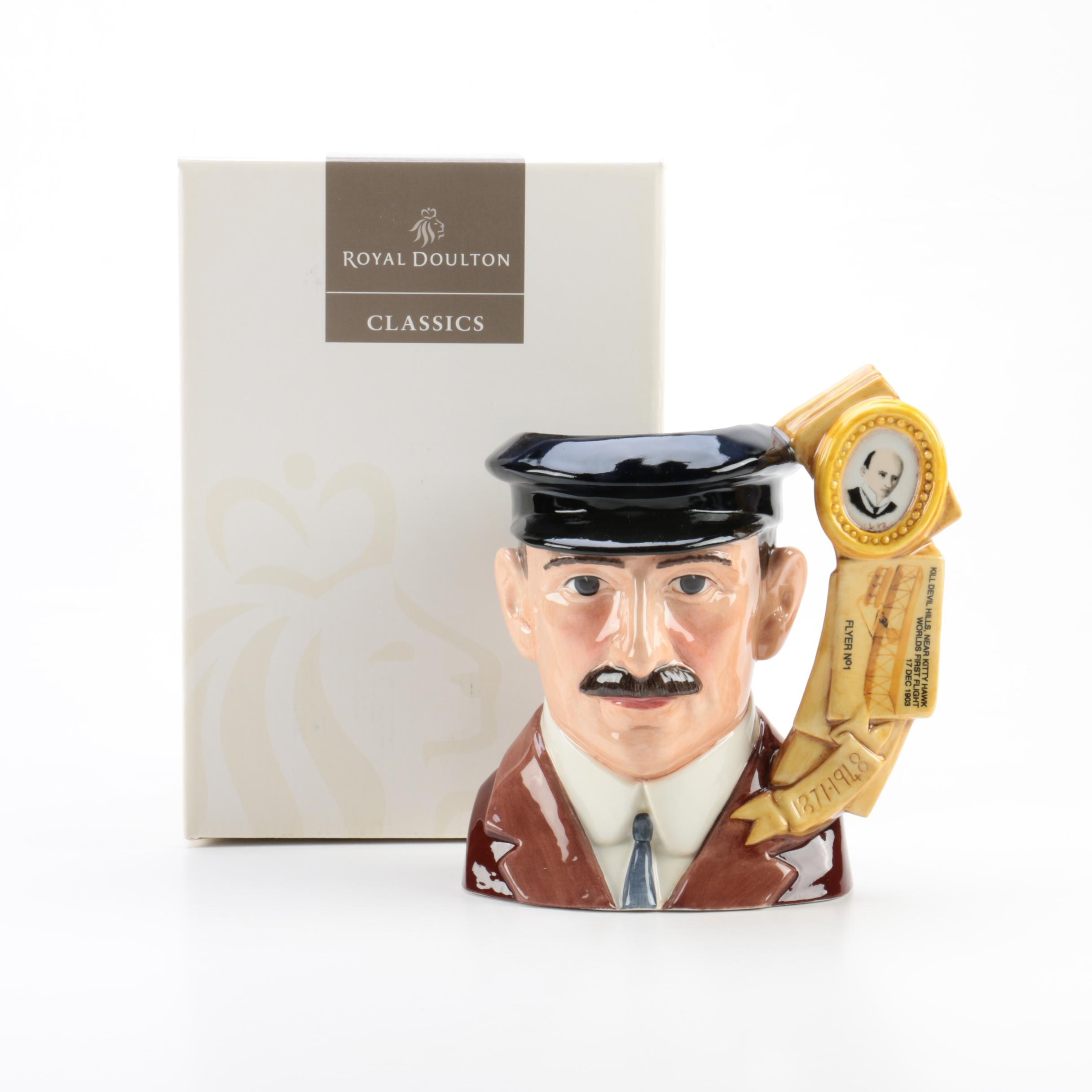 "Royal Doulton ""Orville Wright"" Character Jug"