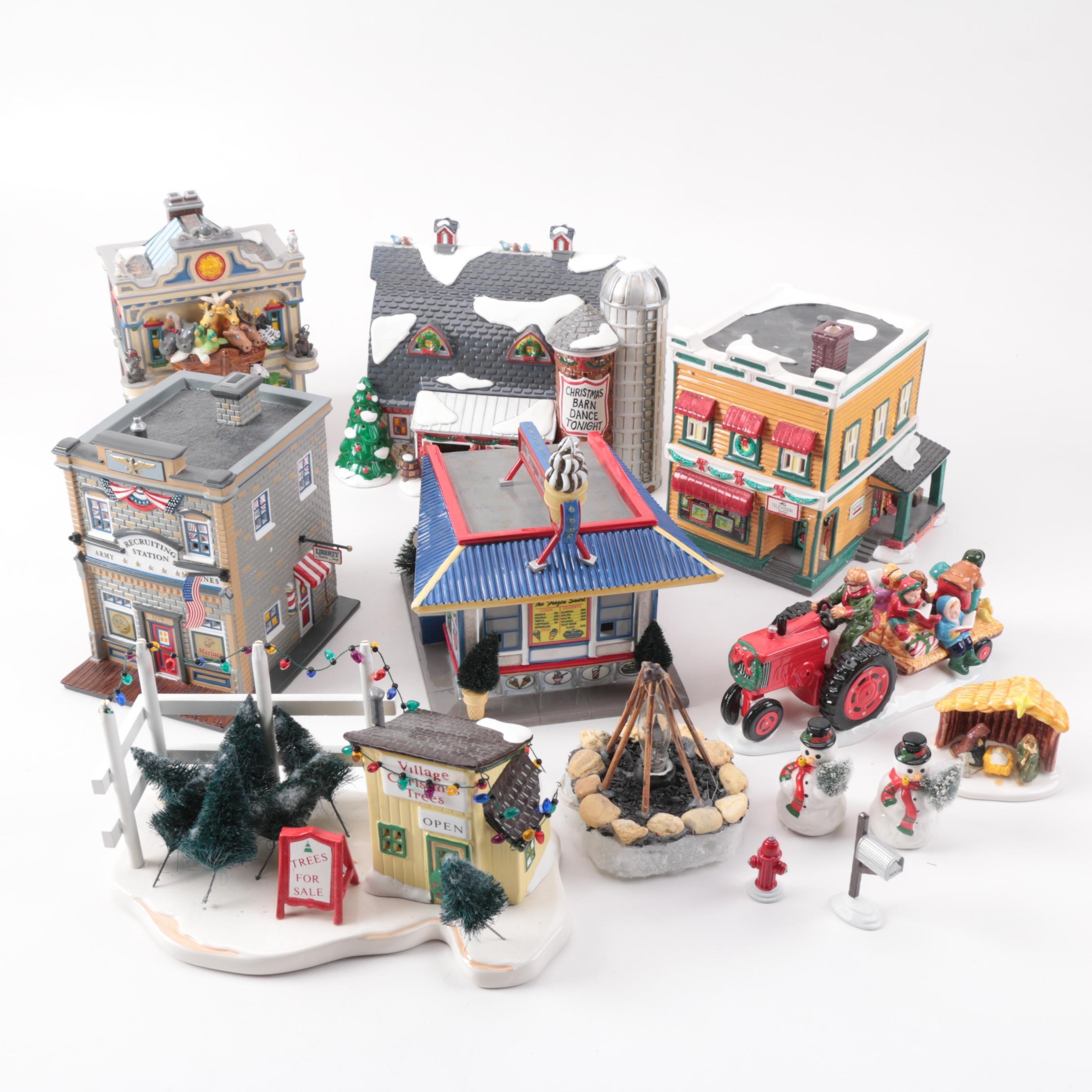 Department 56 Snow Village Figurines