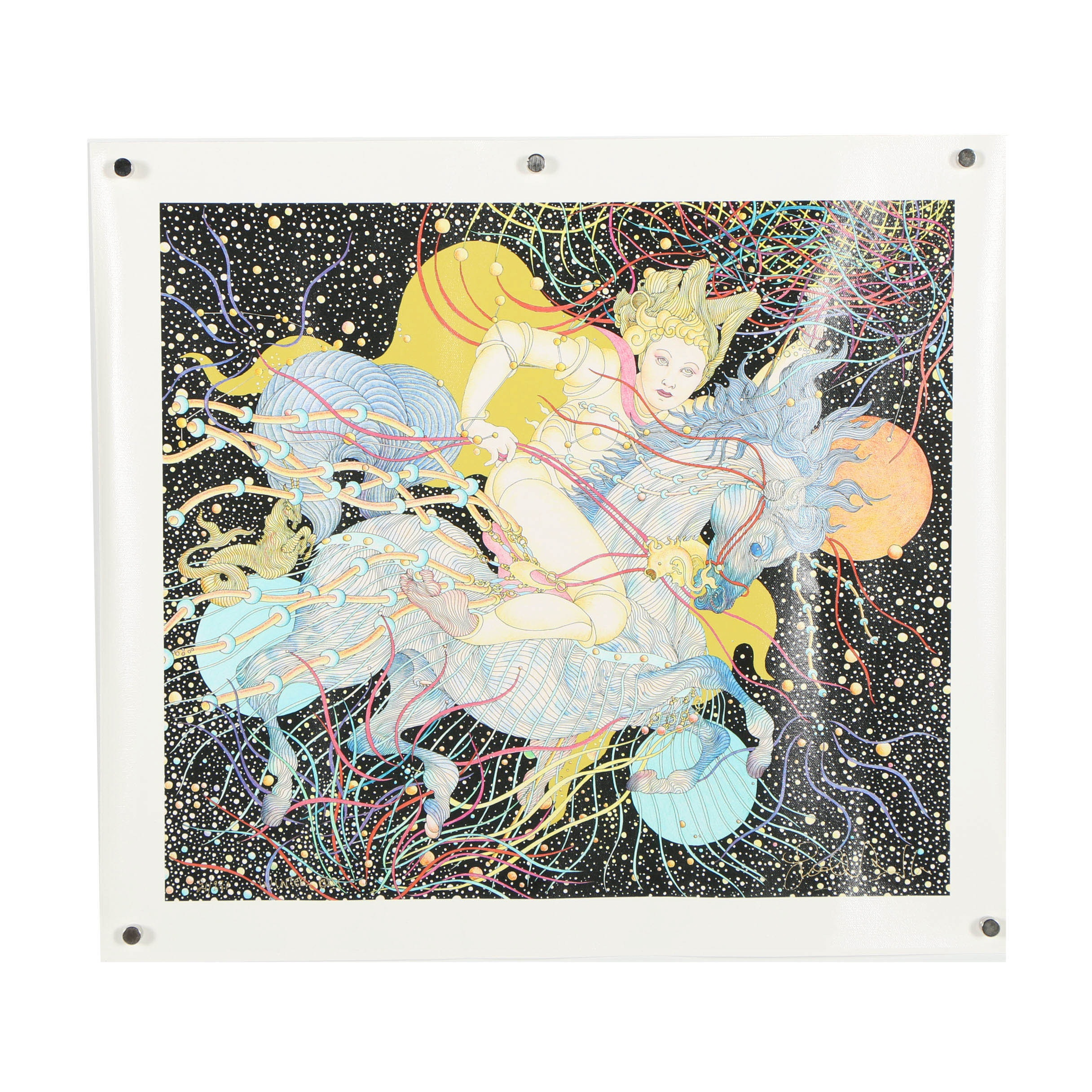 """Guillaume Azoulay Limited Edition Giclee """"Winter"""""""