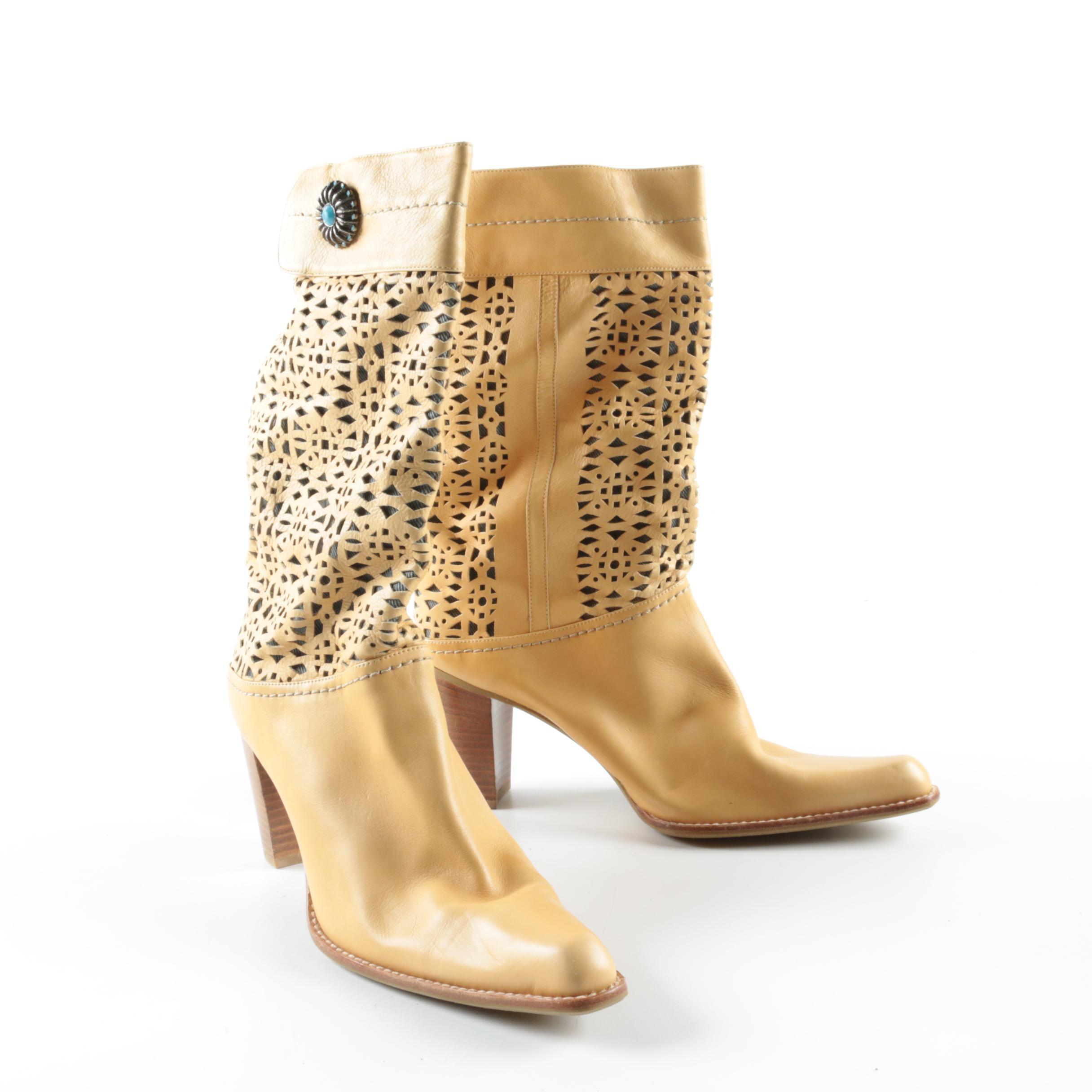 Women's Stuart Weitzman Laser Cut Boots