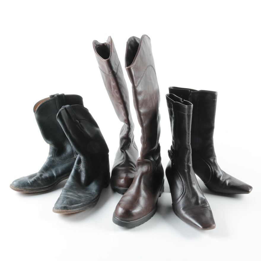 f0486fa8a31 Women's Boots Including Justin and Blondo
