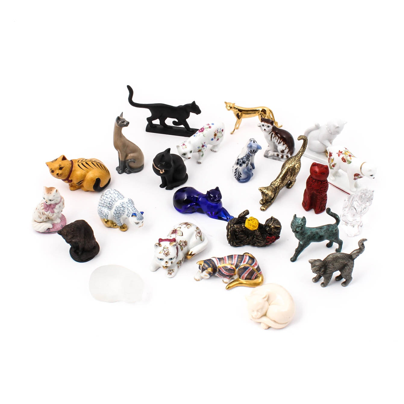 The Curio Cabinet Cats Collection