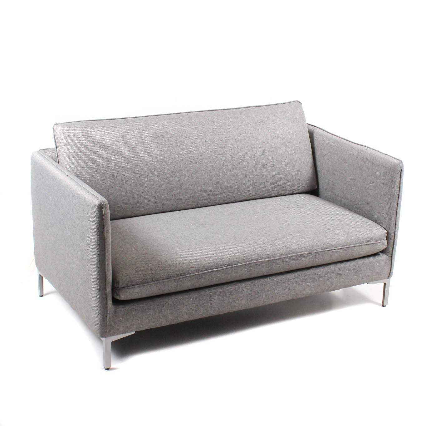 Contemporary Mid Century Modern Style Loveseat by CB2