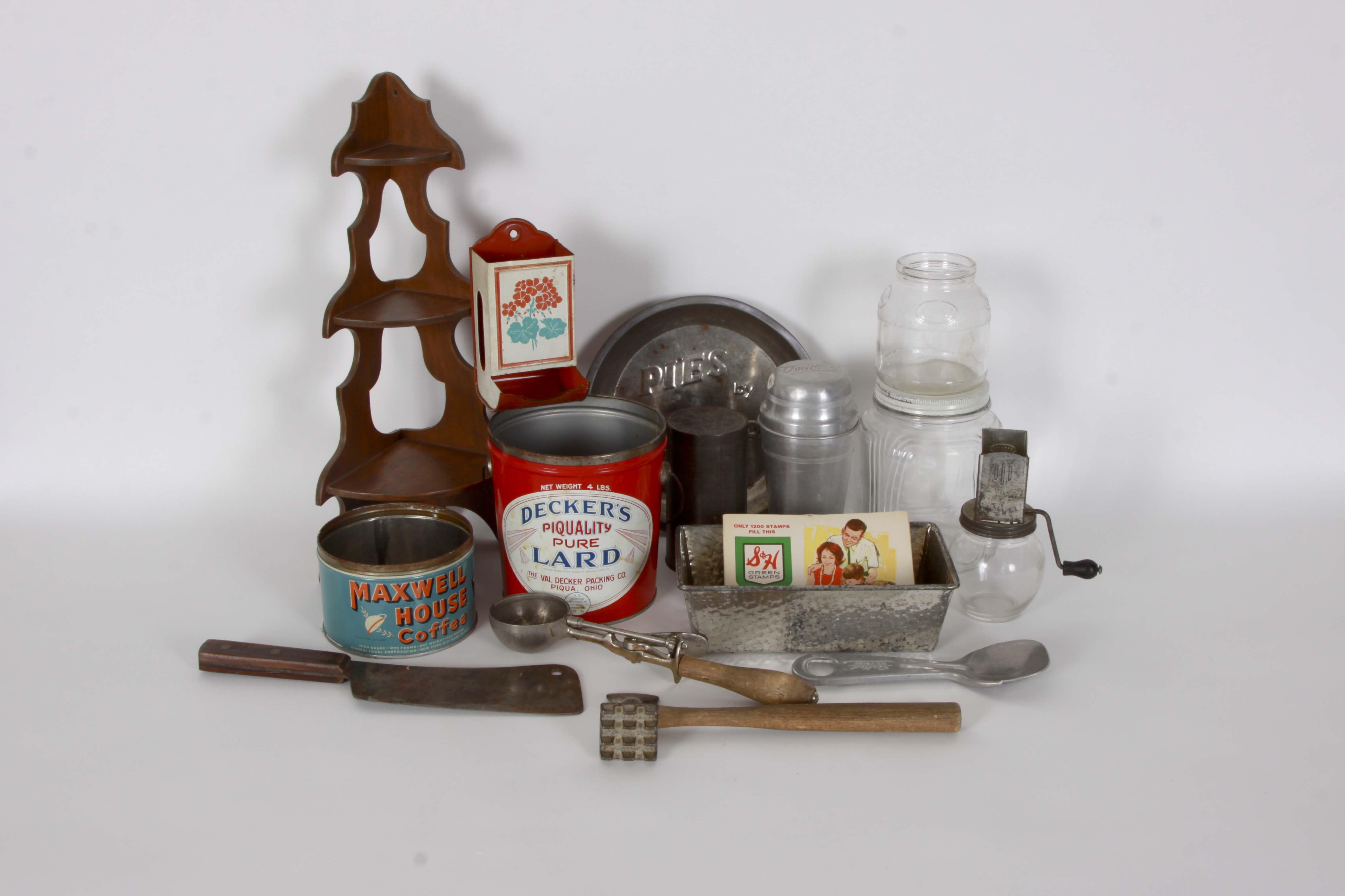 Assortment of Vintage Kitchenware