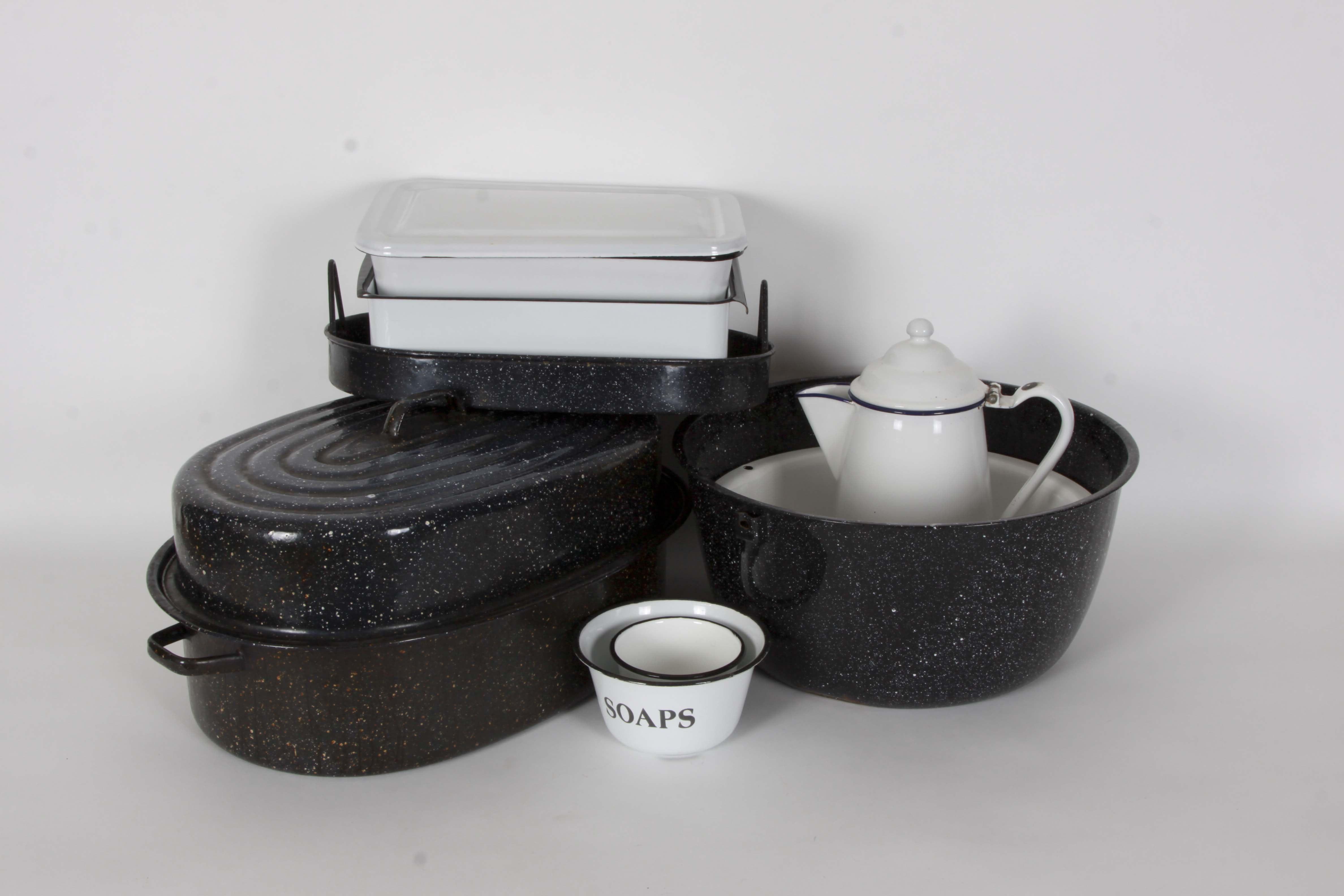 Kitchen Enamelware Assortment