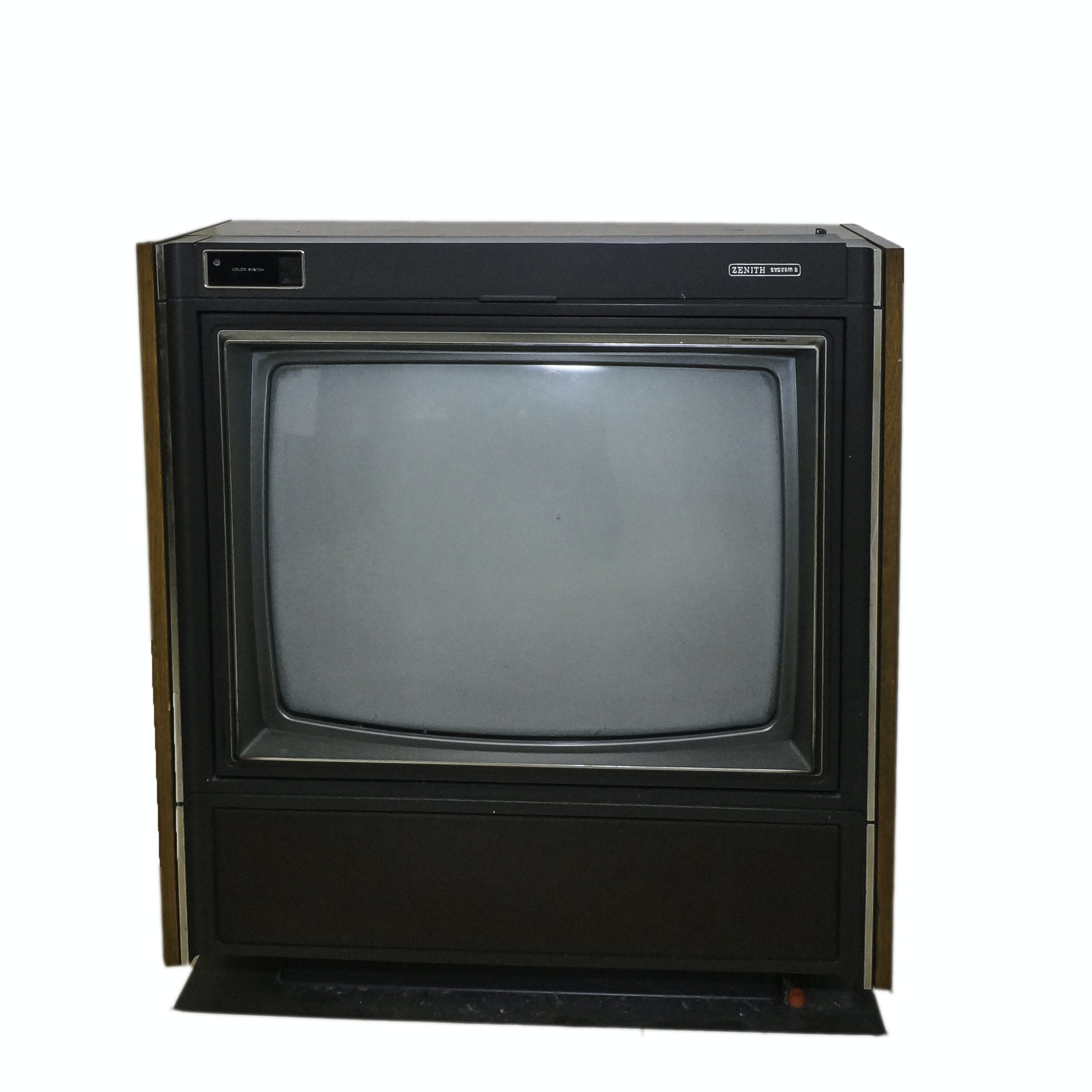 Vintage Zenith System 3 Television with Color Sentry and Space Command