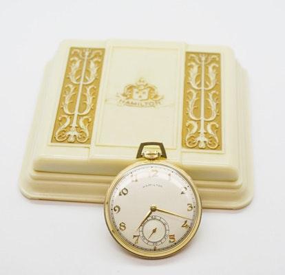 Vintage Hamilton Open Face Pocket Watch