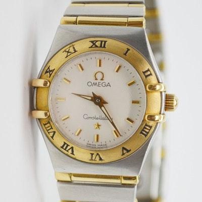 Omega Constellation 18K Yellow Gold Wristwatch