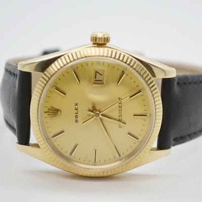 Rolex President 14K Yellow Gold Wristwatch