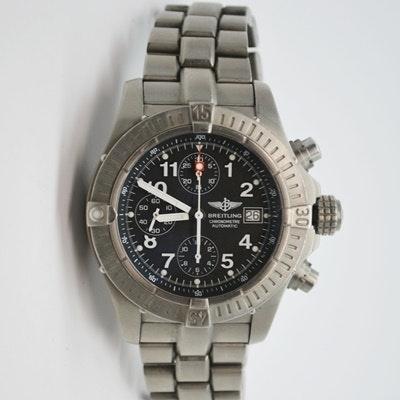 Breitling Chronometre Automatic Titanium Wristwatch