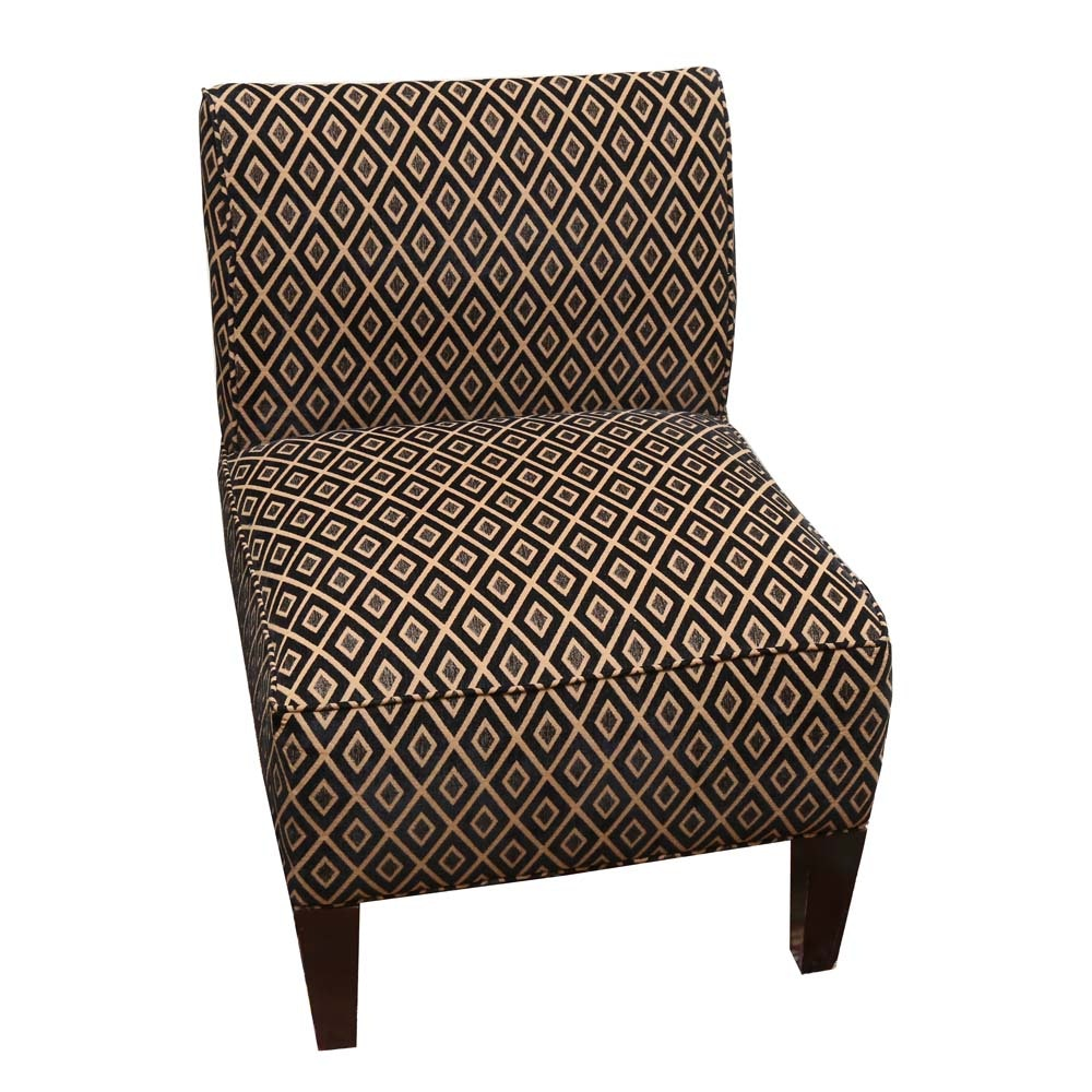 Contemporary Slipper Chair by Broyhill