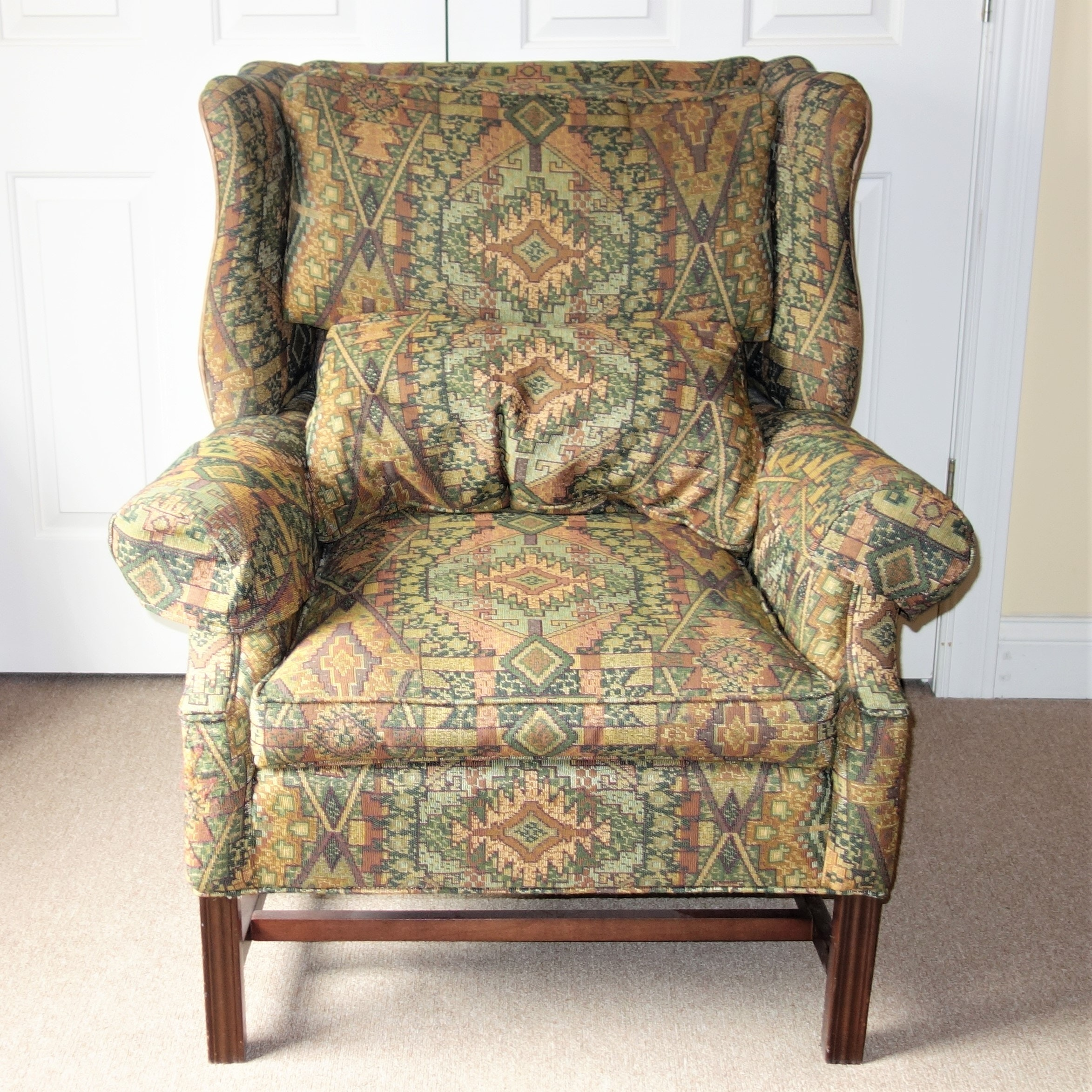 Century Furniture Wingback Chair