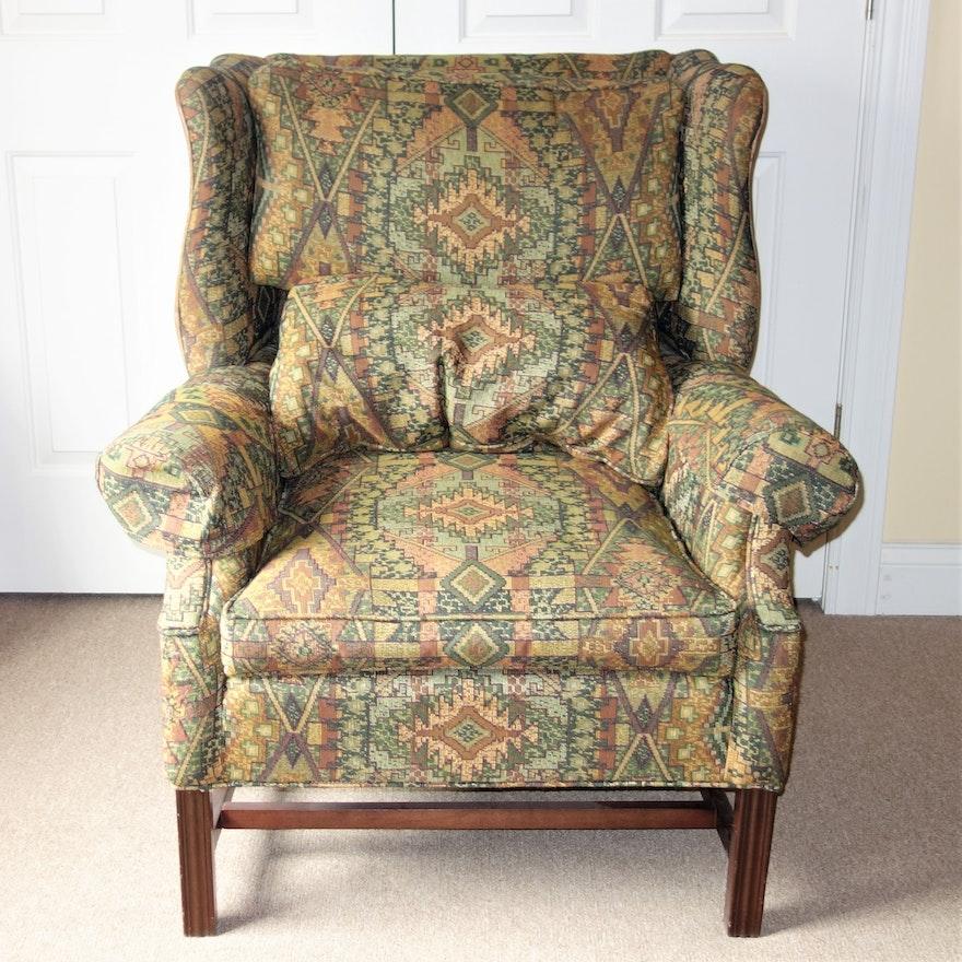 century furniture wingback chair ebth