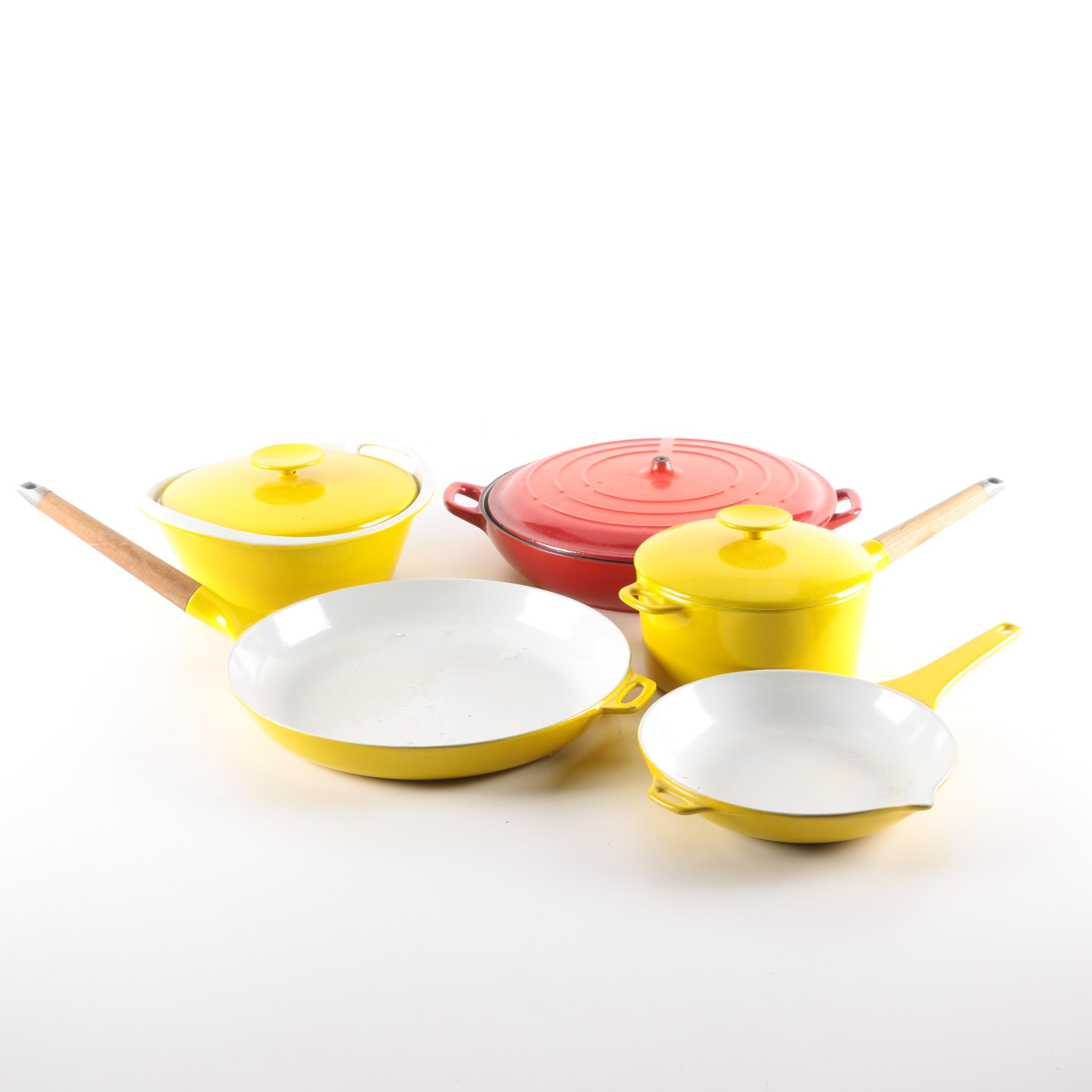 Enameled Cookware Featuring Technique