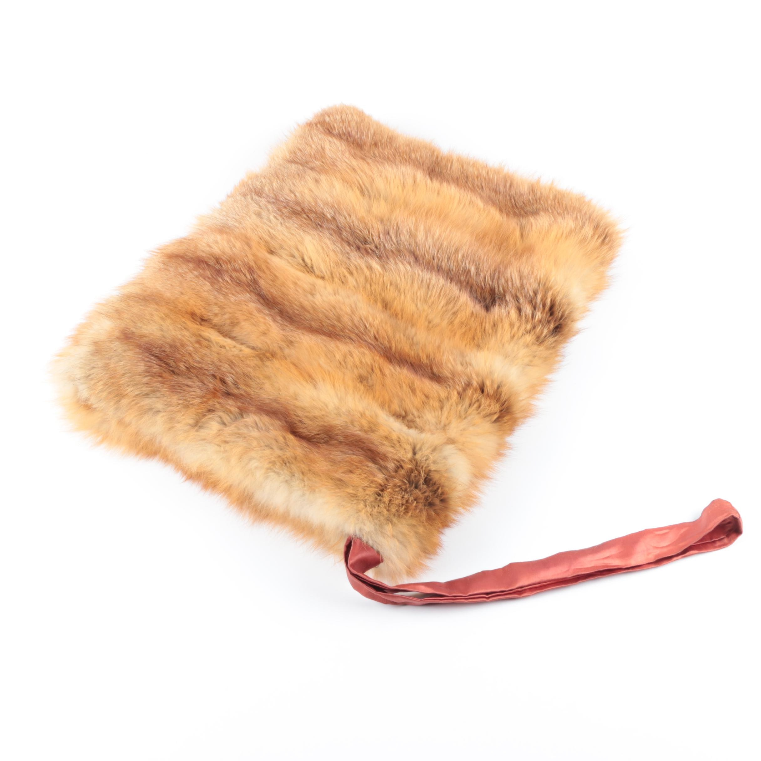 Fox Fur Muff