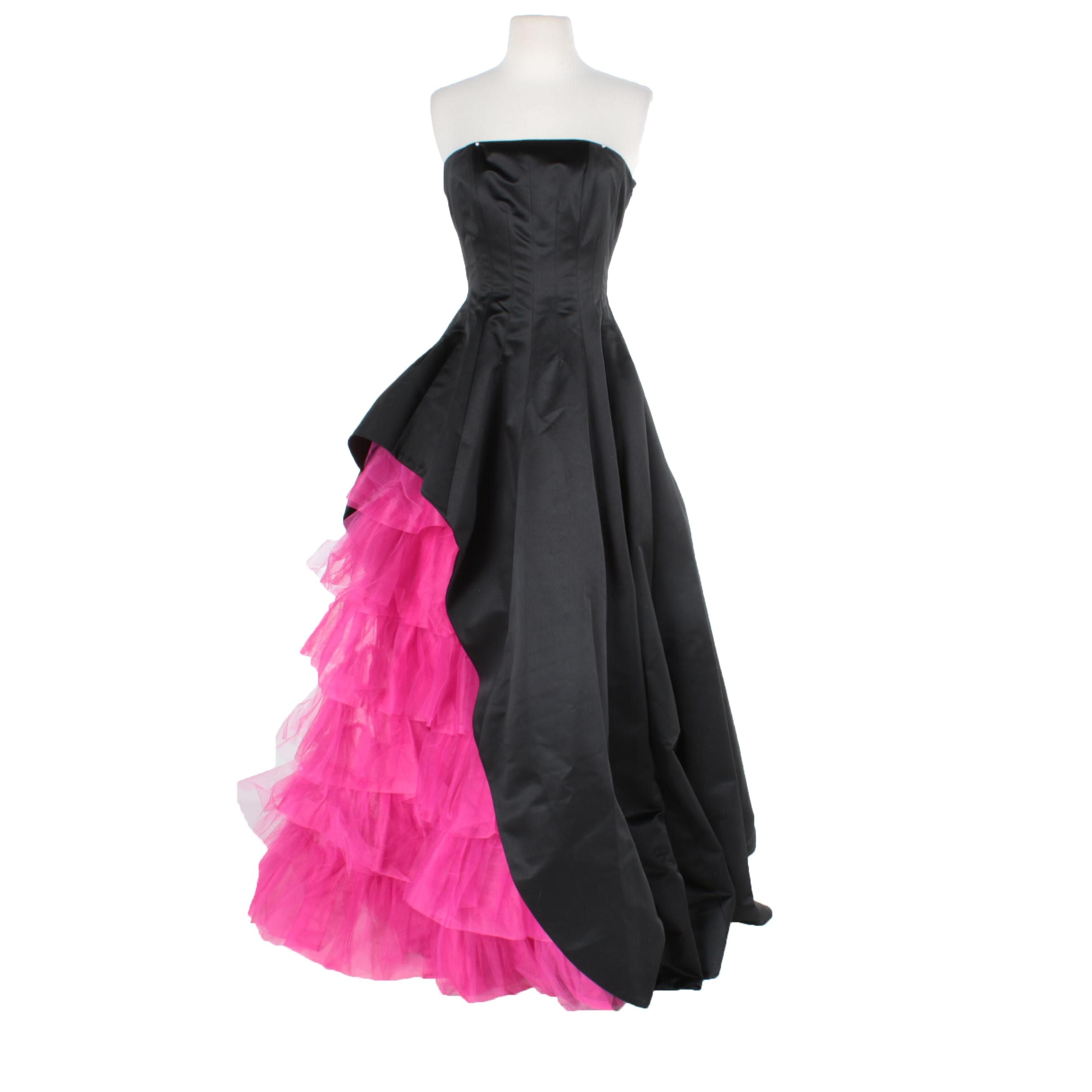 "2009 Betsey Johnson ""Duchess Windsor"" Opera Gown"